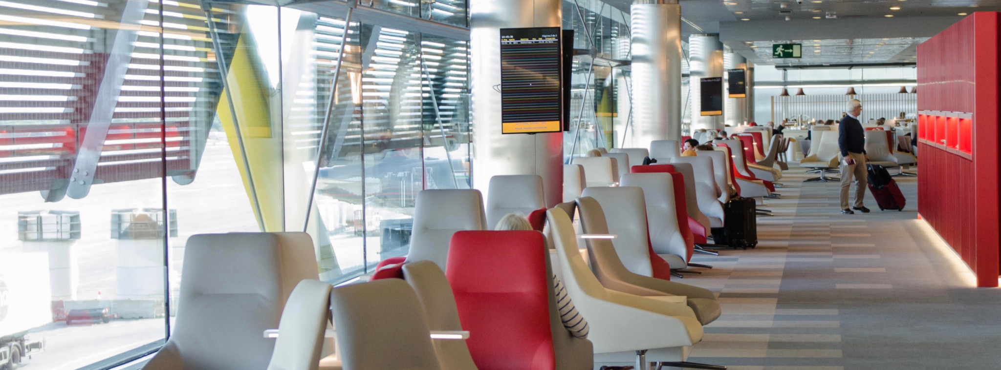 Iberia Business Class Lounge in Madrid