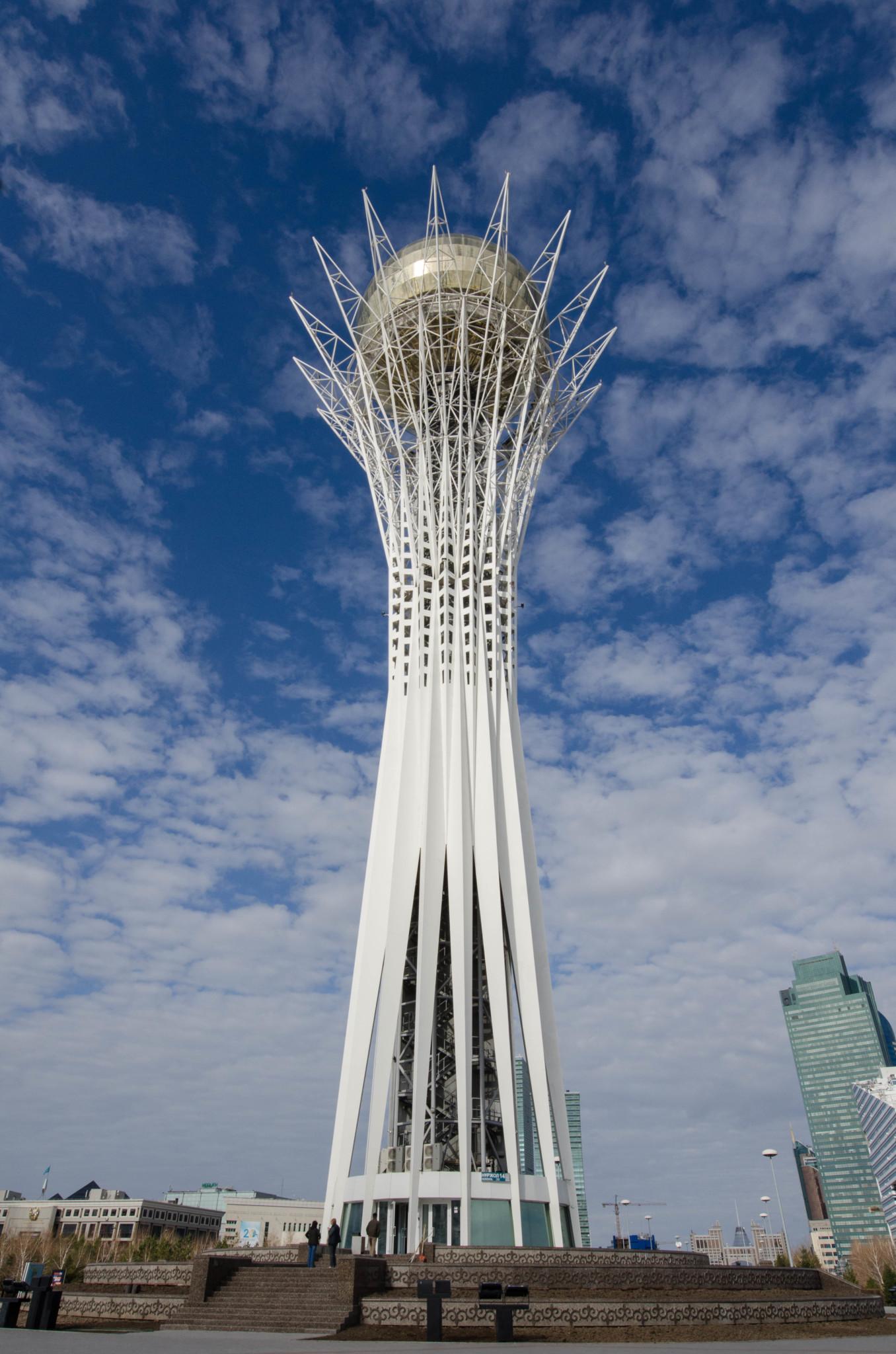 Bayterek Tower Astana Sehenswürdigkeiten