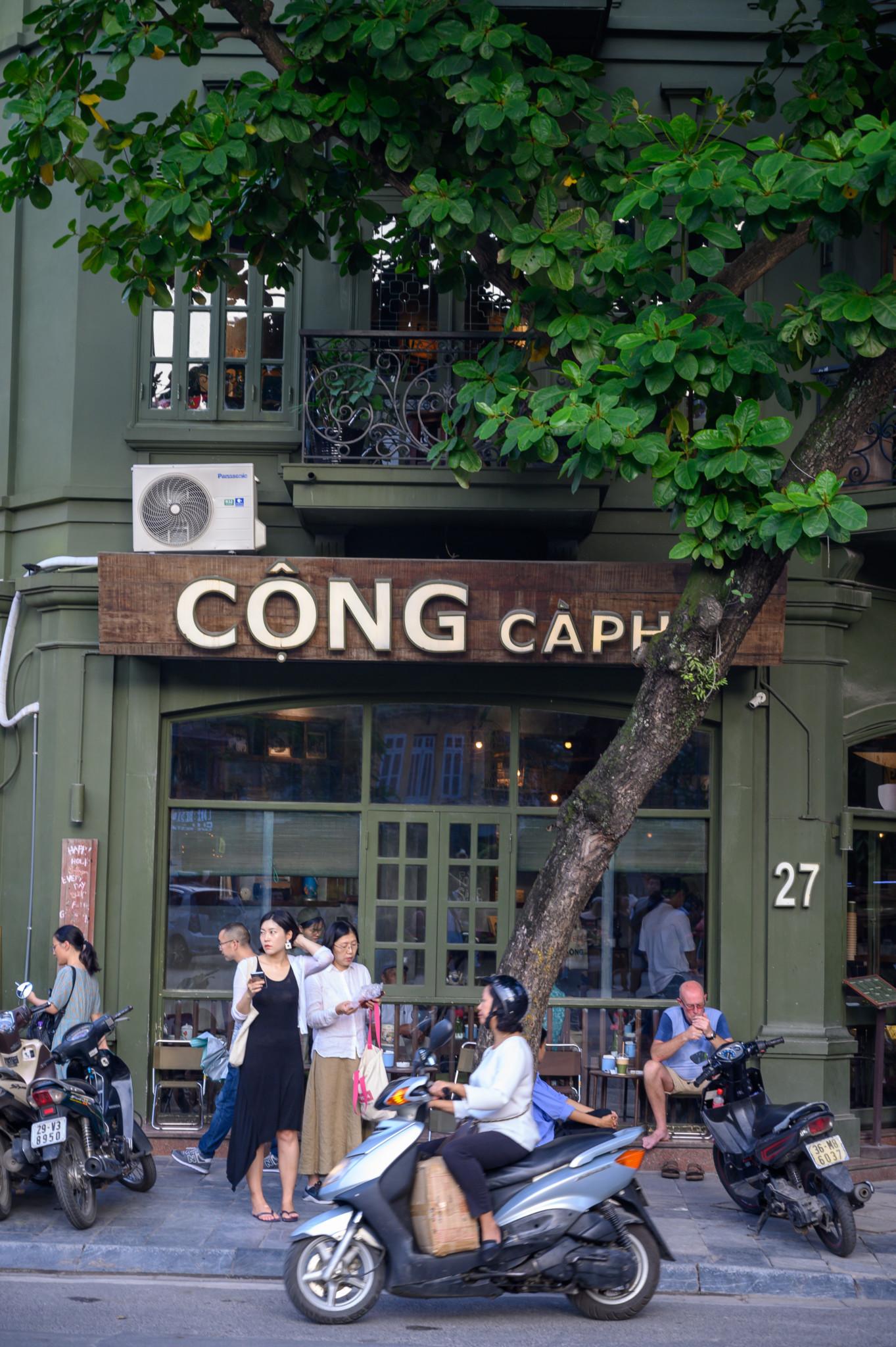 Der Insidertipp Café Cong in der Hauptstadt von Vietnam