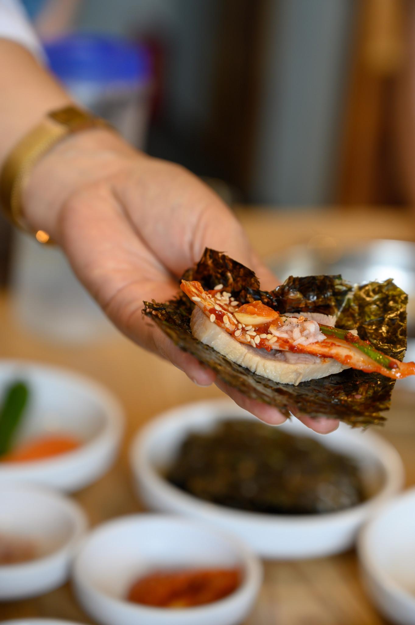 Koreanische Speisen in Korea