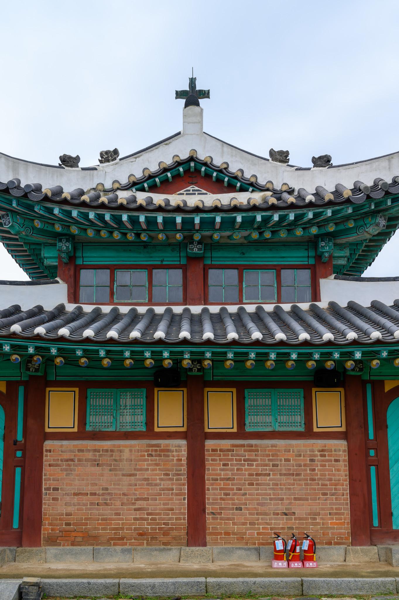 Die Katholische Kirche in Ganghwa Island in Incheon in Südkorea