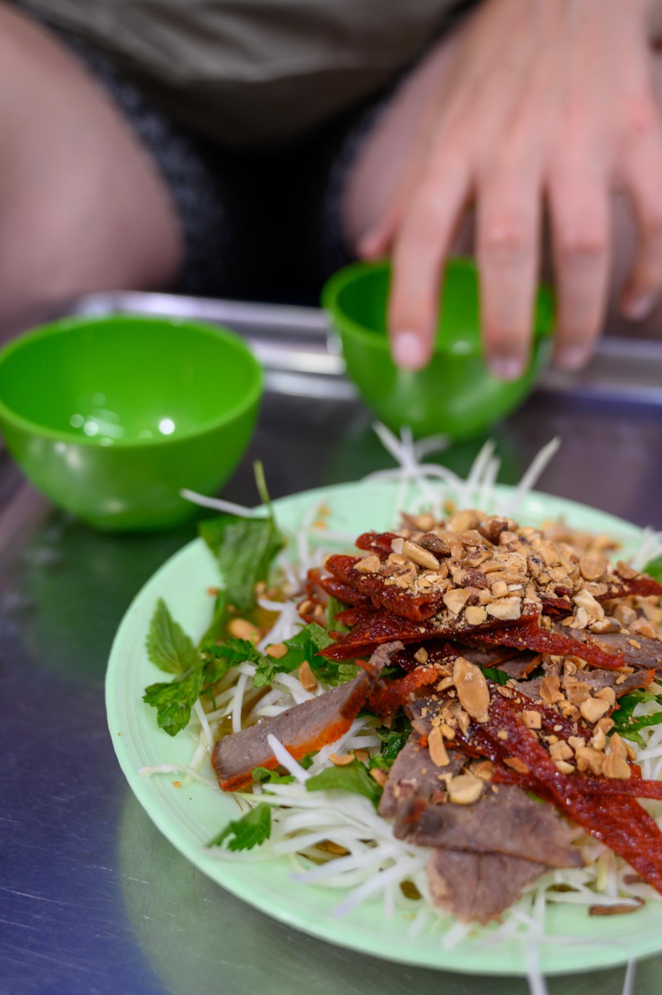 Vietnamesisches Essen in Hanoi
