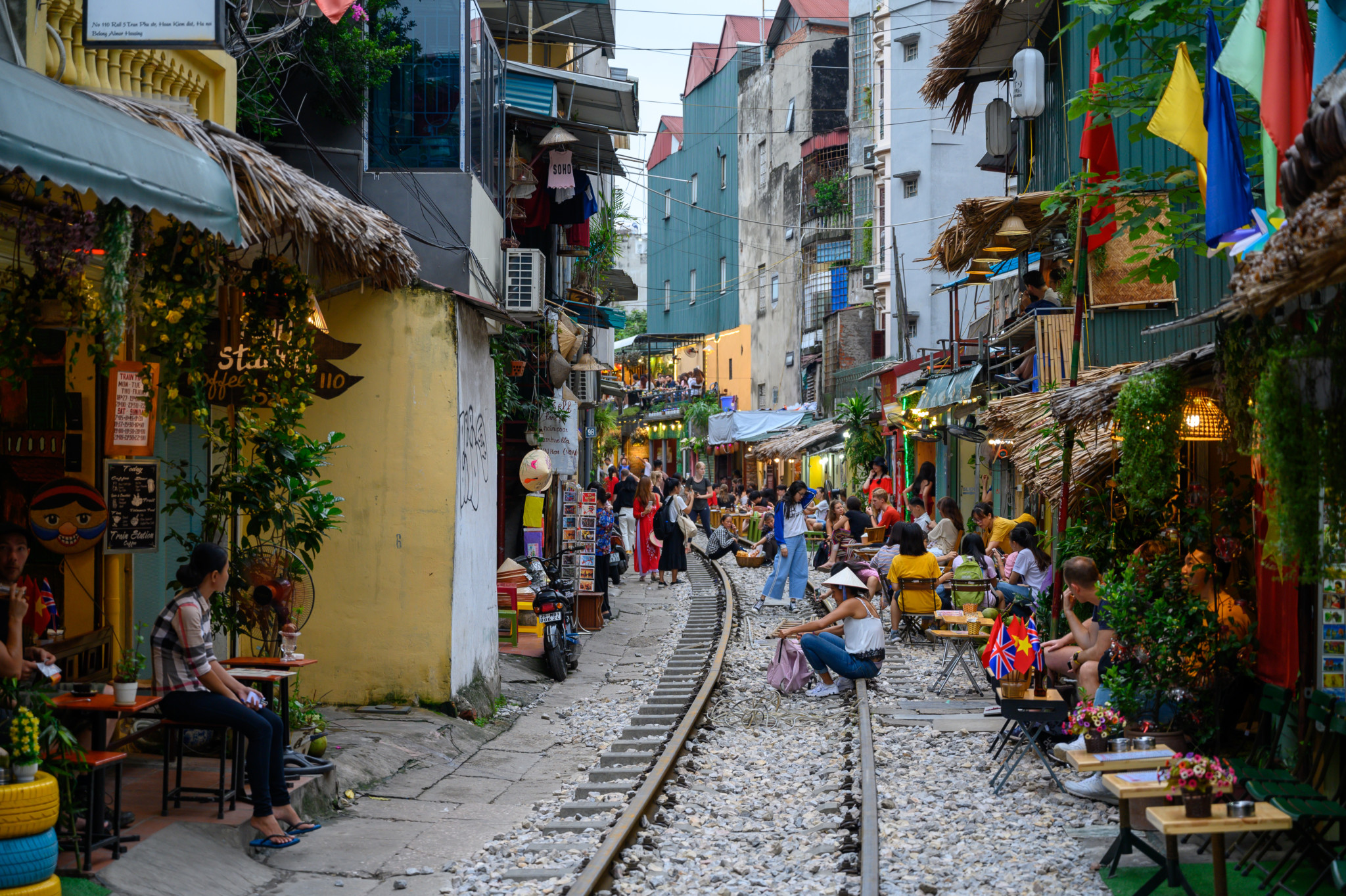 Train Street Hanoi