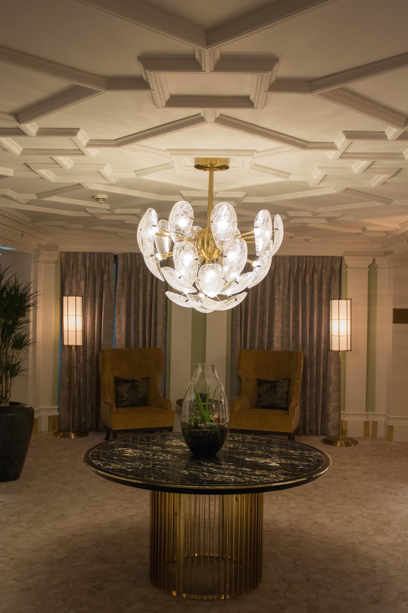 Kronleuchter Mandarin Oriental Hotel London