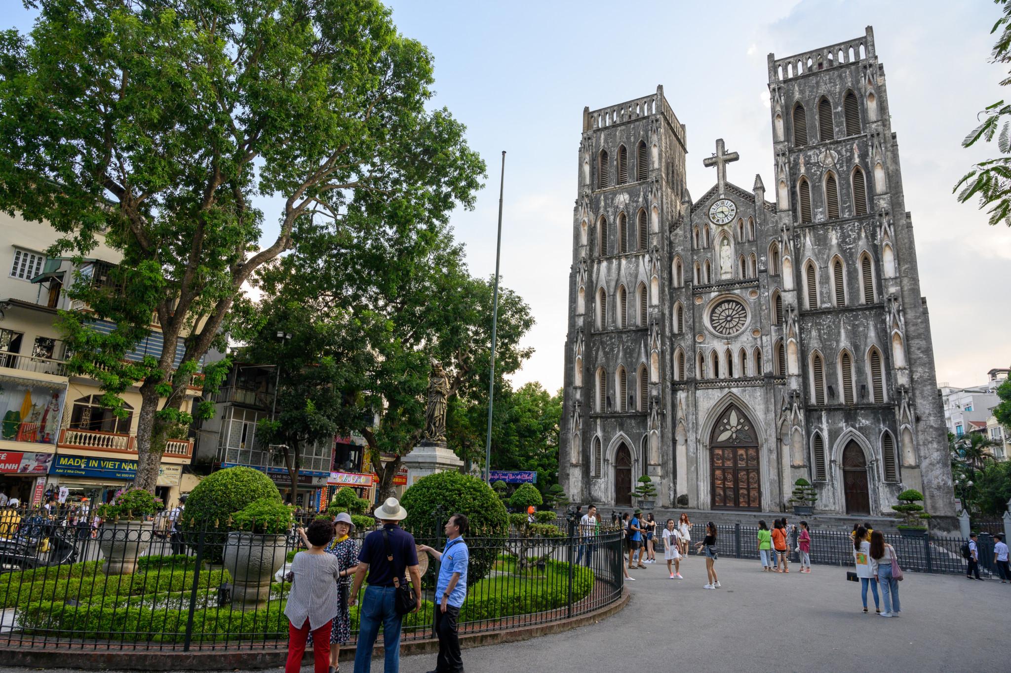 St. Joseph Kathedrale in Hanoi Vietnam