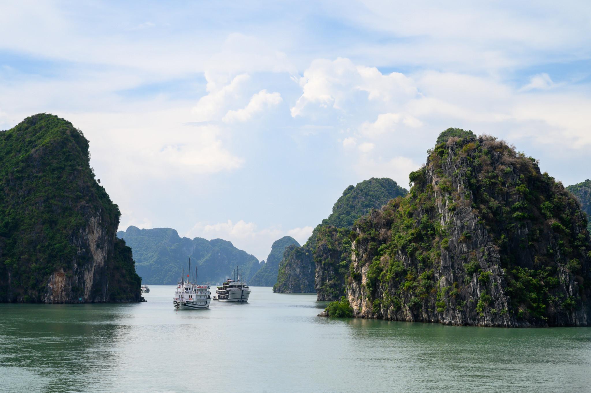 Auf Tour von Hanoi zur Halong Bucht in Vietnam