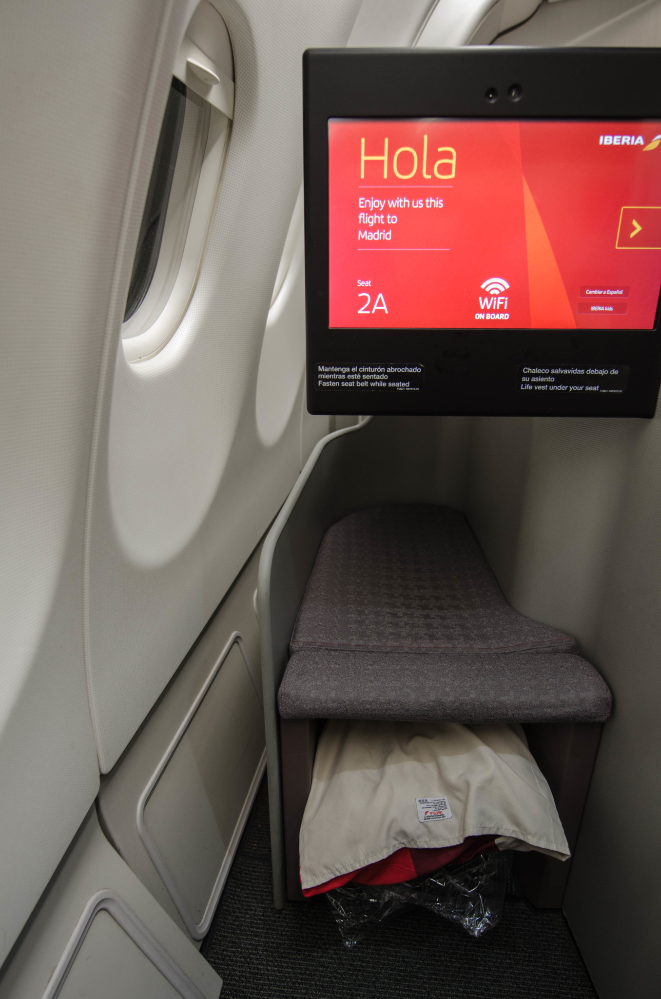 Iberia Business Class von Havanna nach Madrid