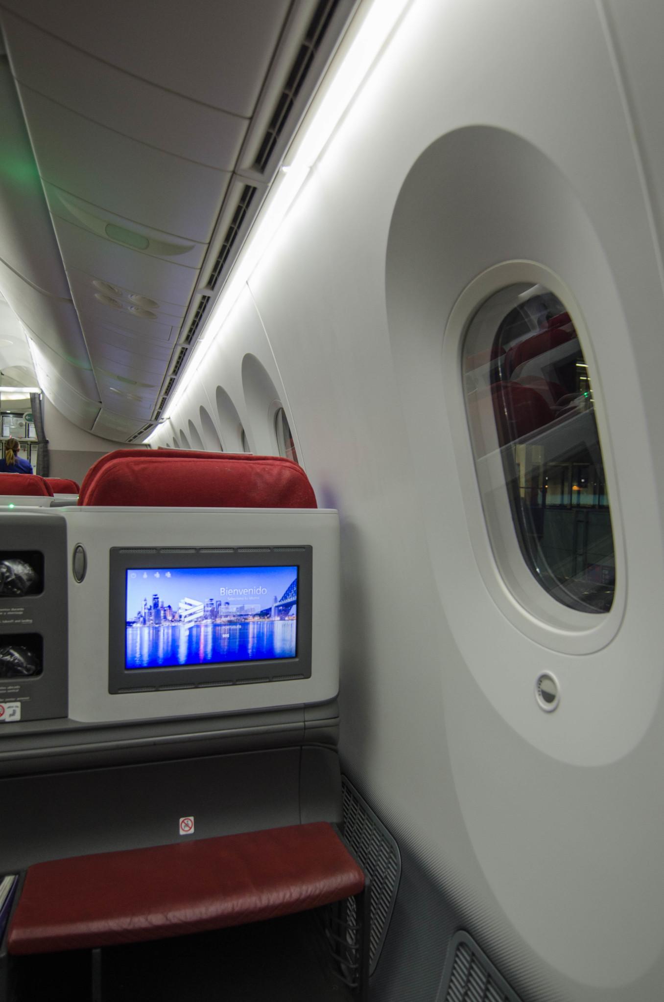 Bildschirme im Sitz