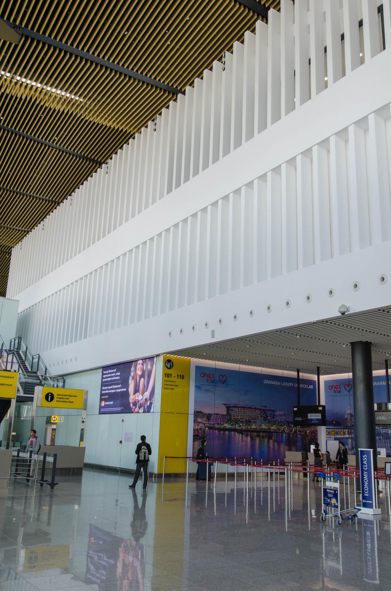 Die Air Astana Lounge