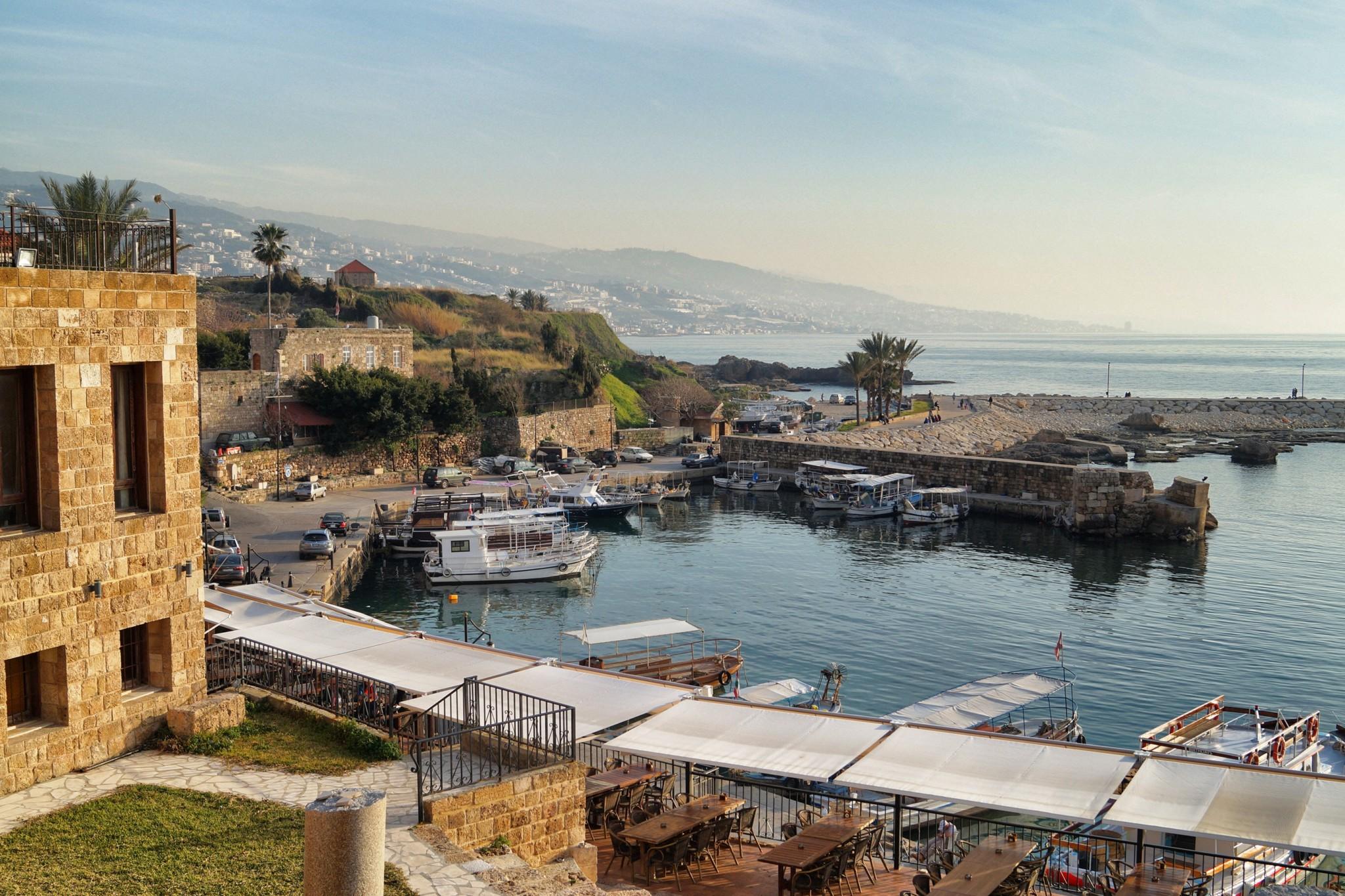 Der Hafen von Batroun