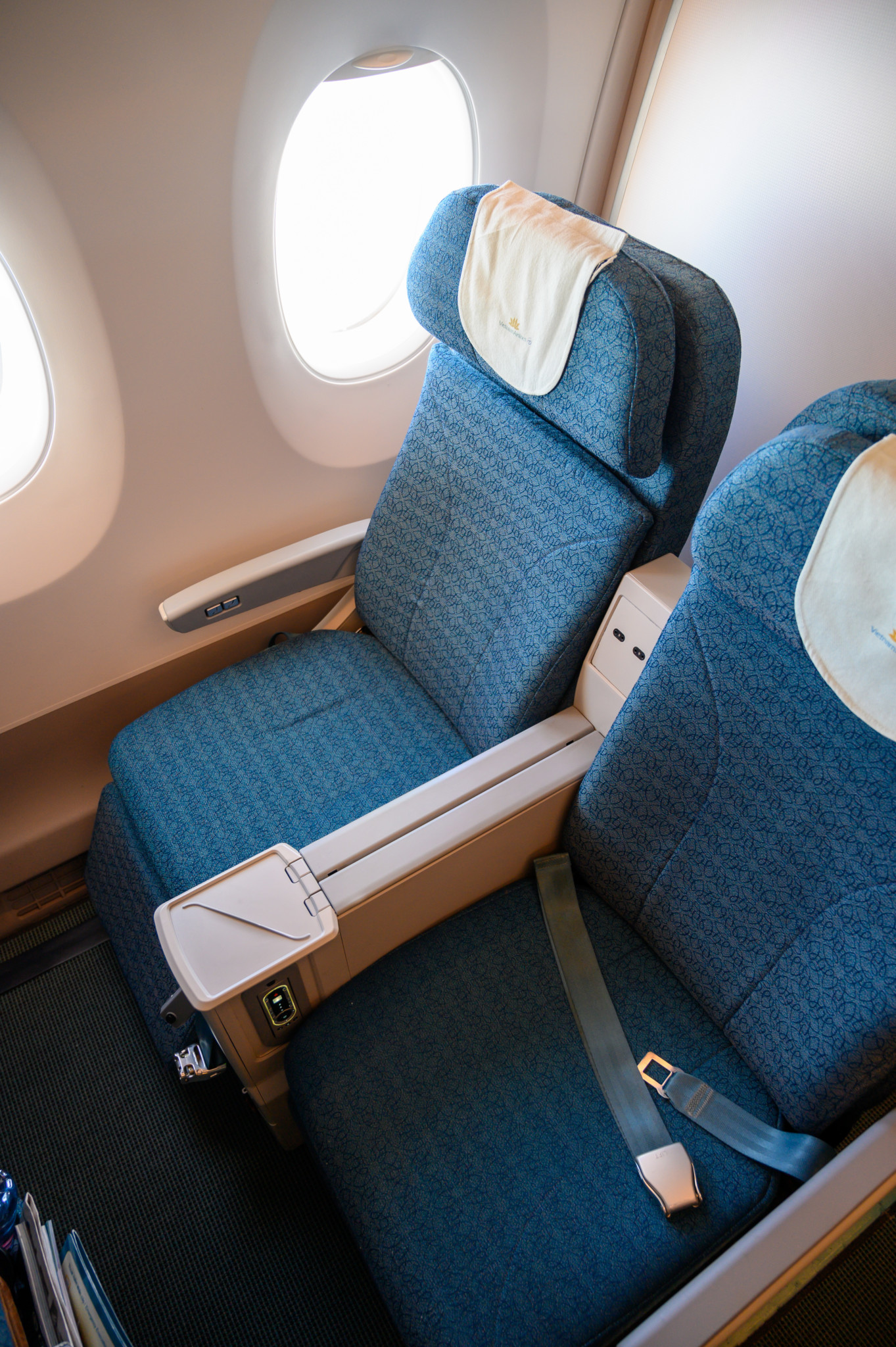 Die Sitze in der Vietnam Airlines Premium Economy