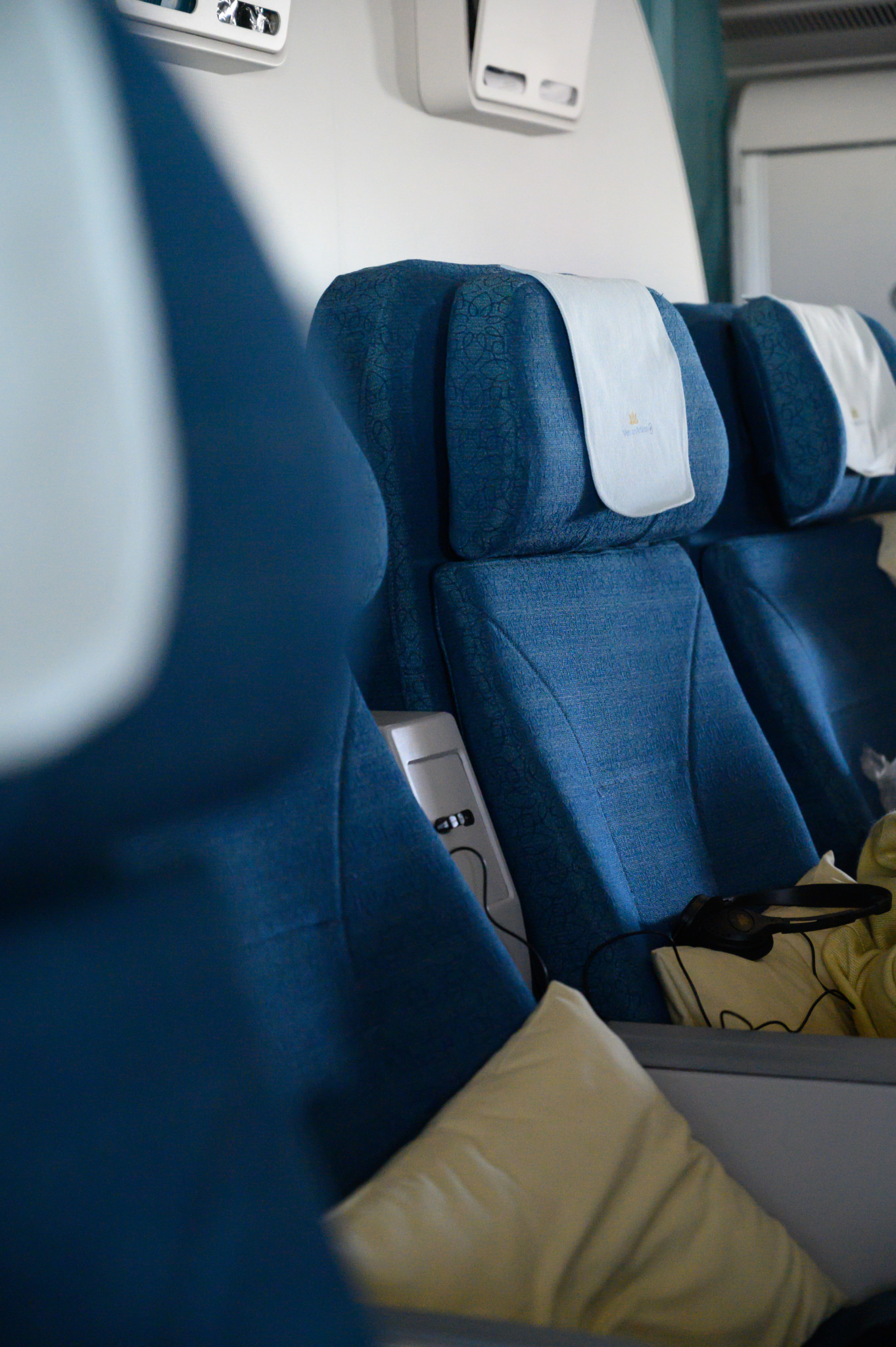 Sitzanordnung in der Vietnam Airlines Premium Economy