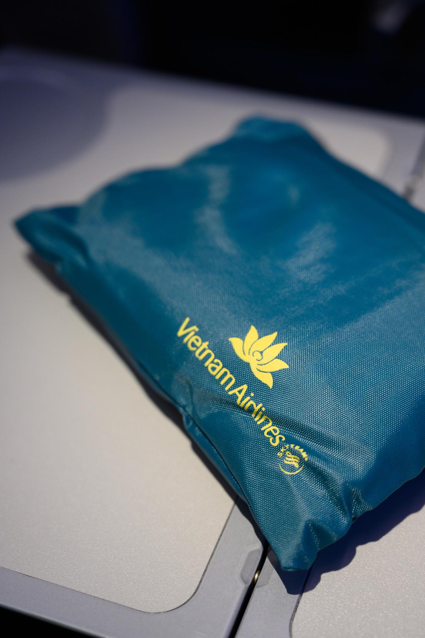 Amenity Kit für die Premium Gäste bei Vietnam Airlines