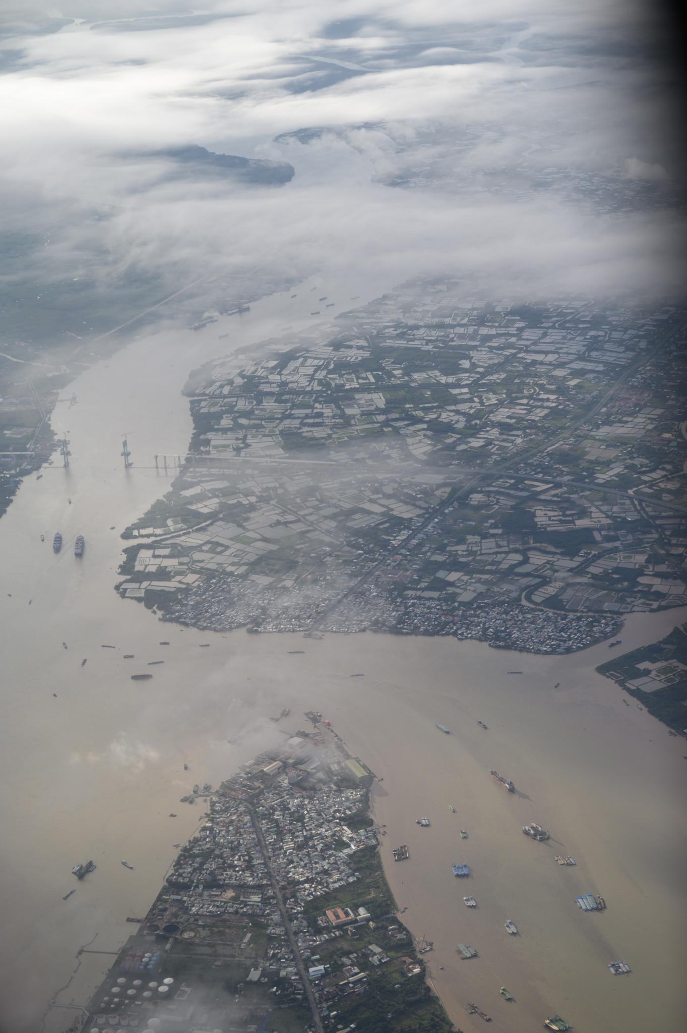 Der Mekong von oben