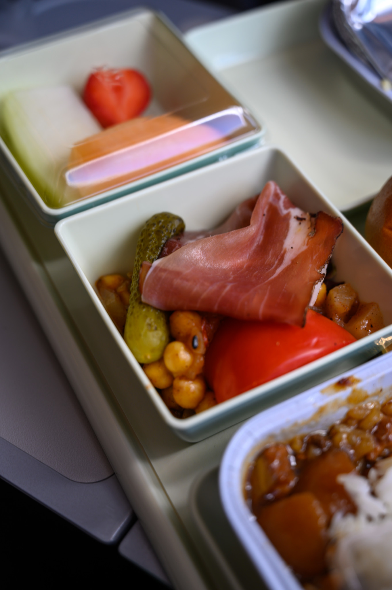 Essen in der Vietnam Airlines Premium Economy