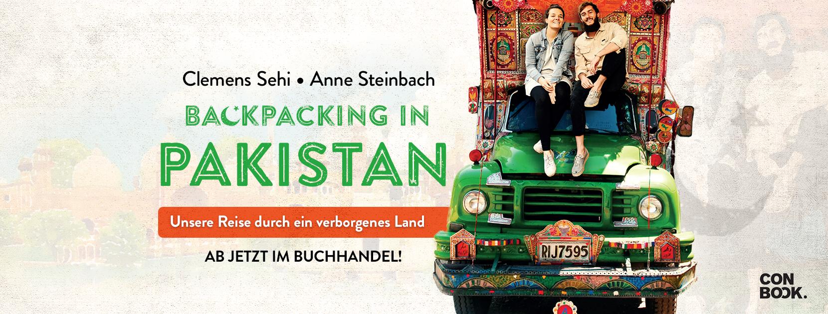 Backpacking in Pakistan - unser eigenes Buch