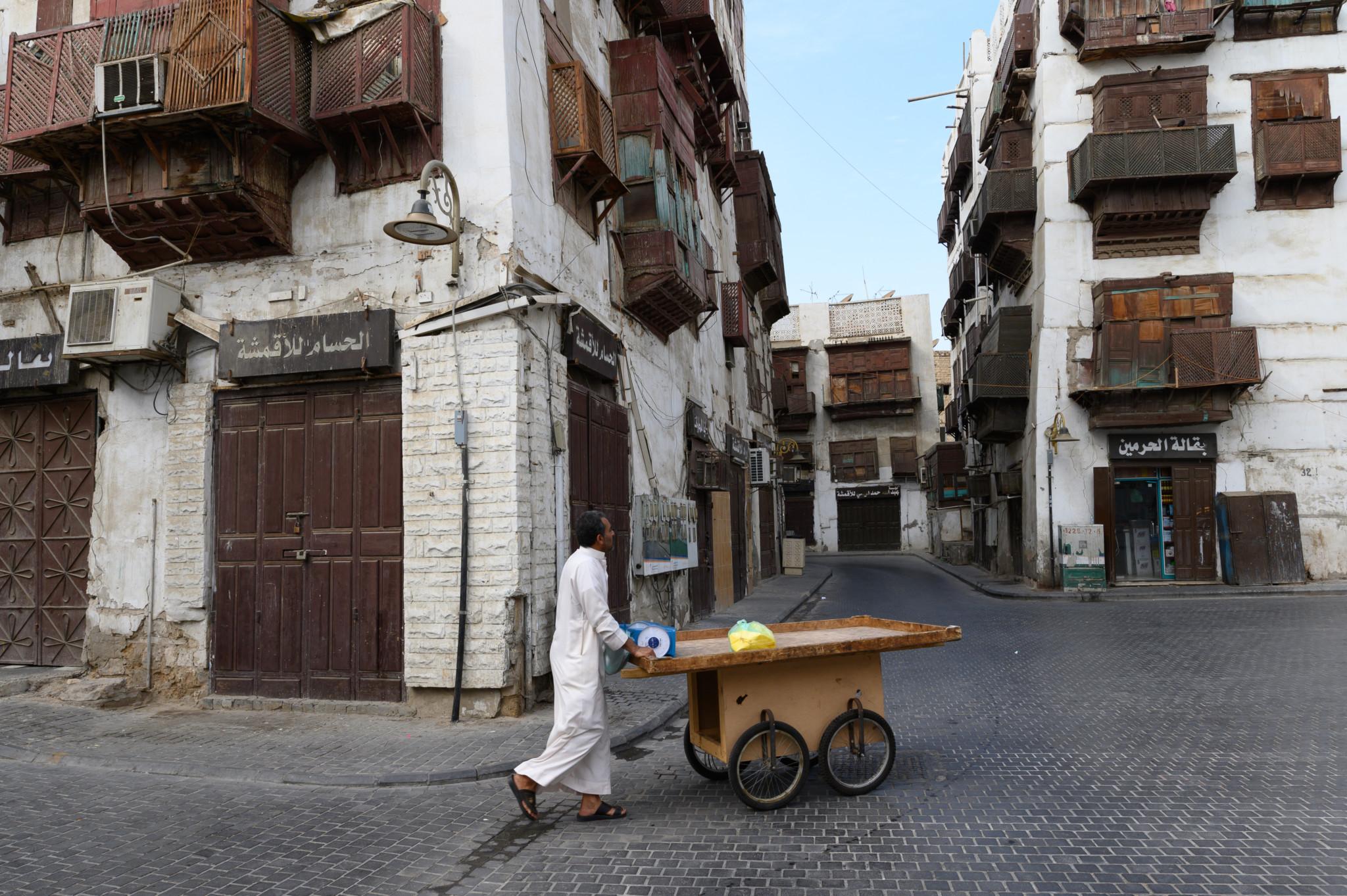 Die Altstadt von Jeddah steckt voller wunderschöner Häuser