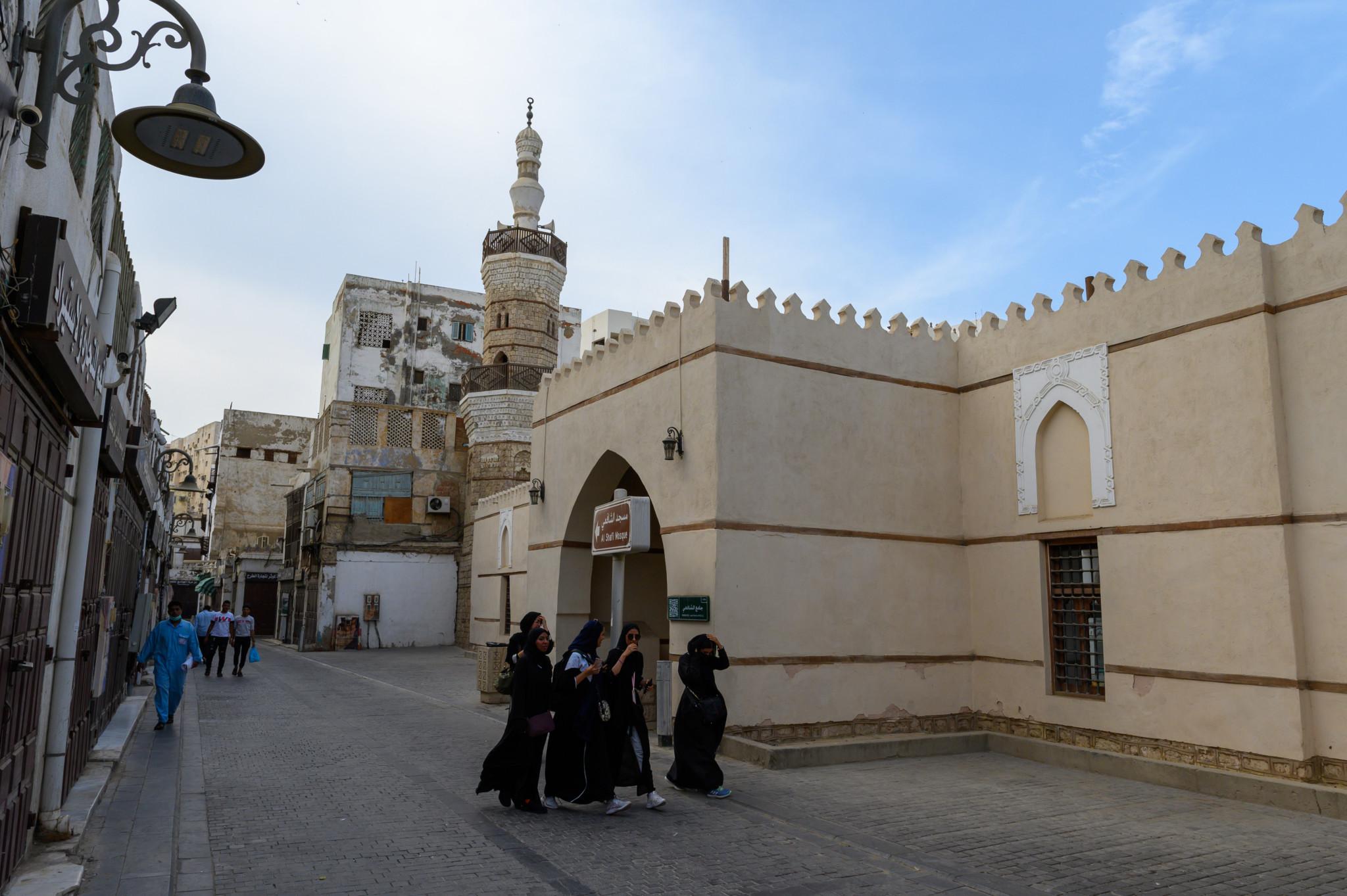 Altstadt von Dschidda in Saudi-Arabien