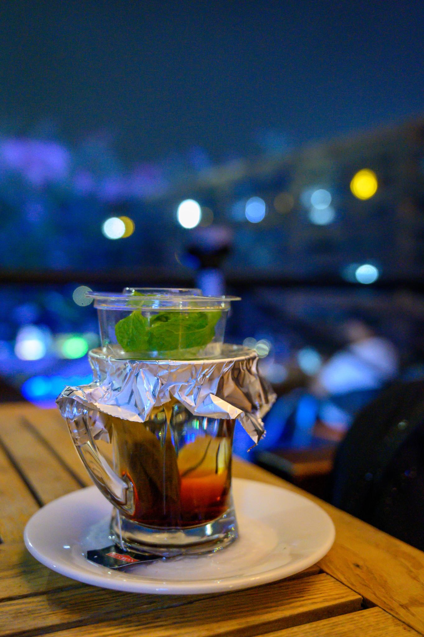 Minztee im Al Seef Restaurant in Dammam