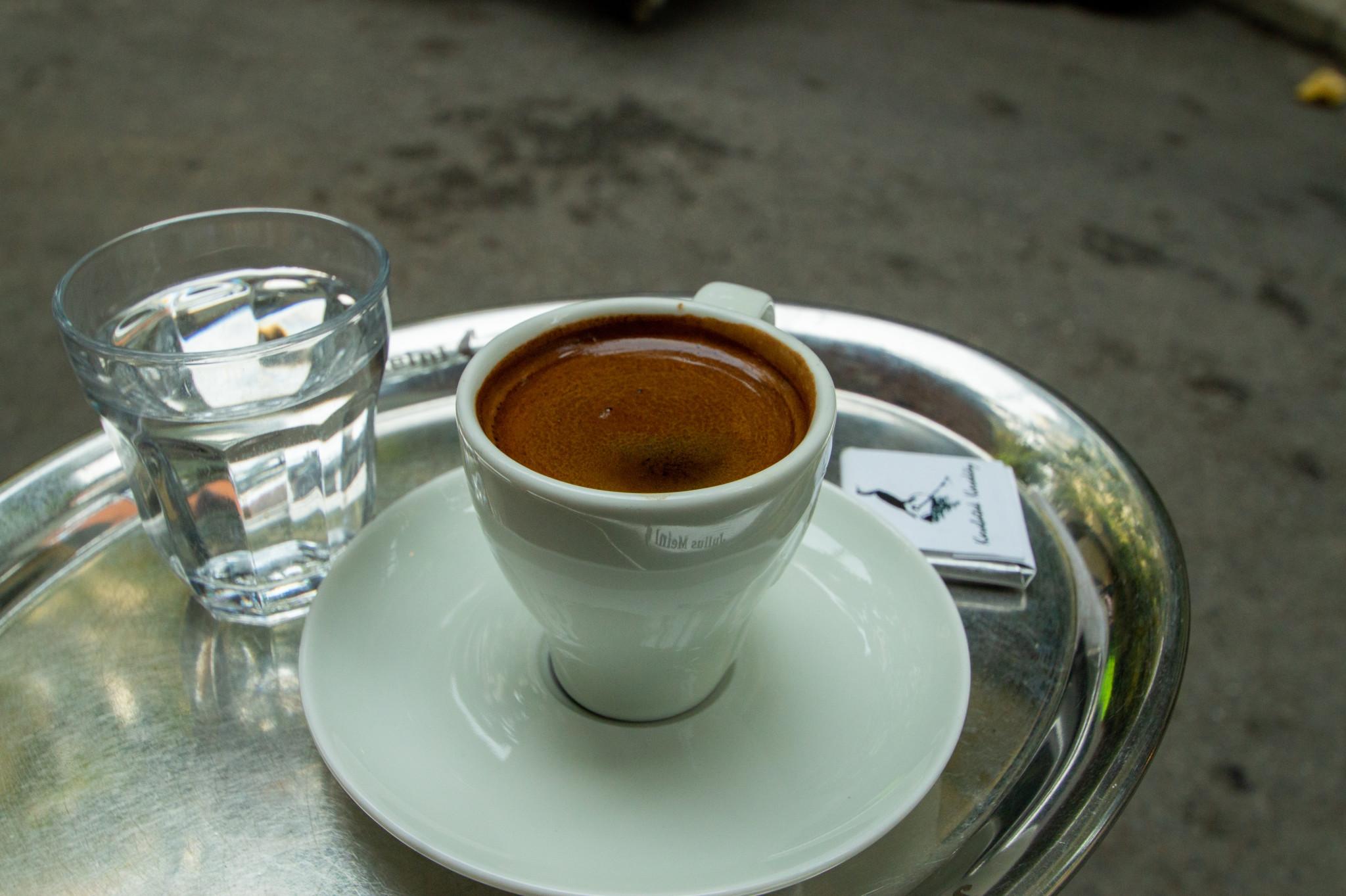 Türkischer Kaffee schmeckt auch im Kaffeeabo gut