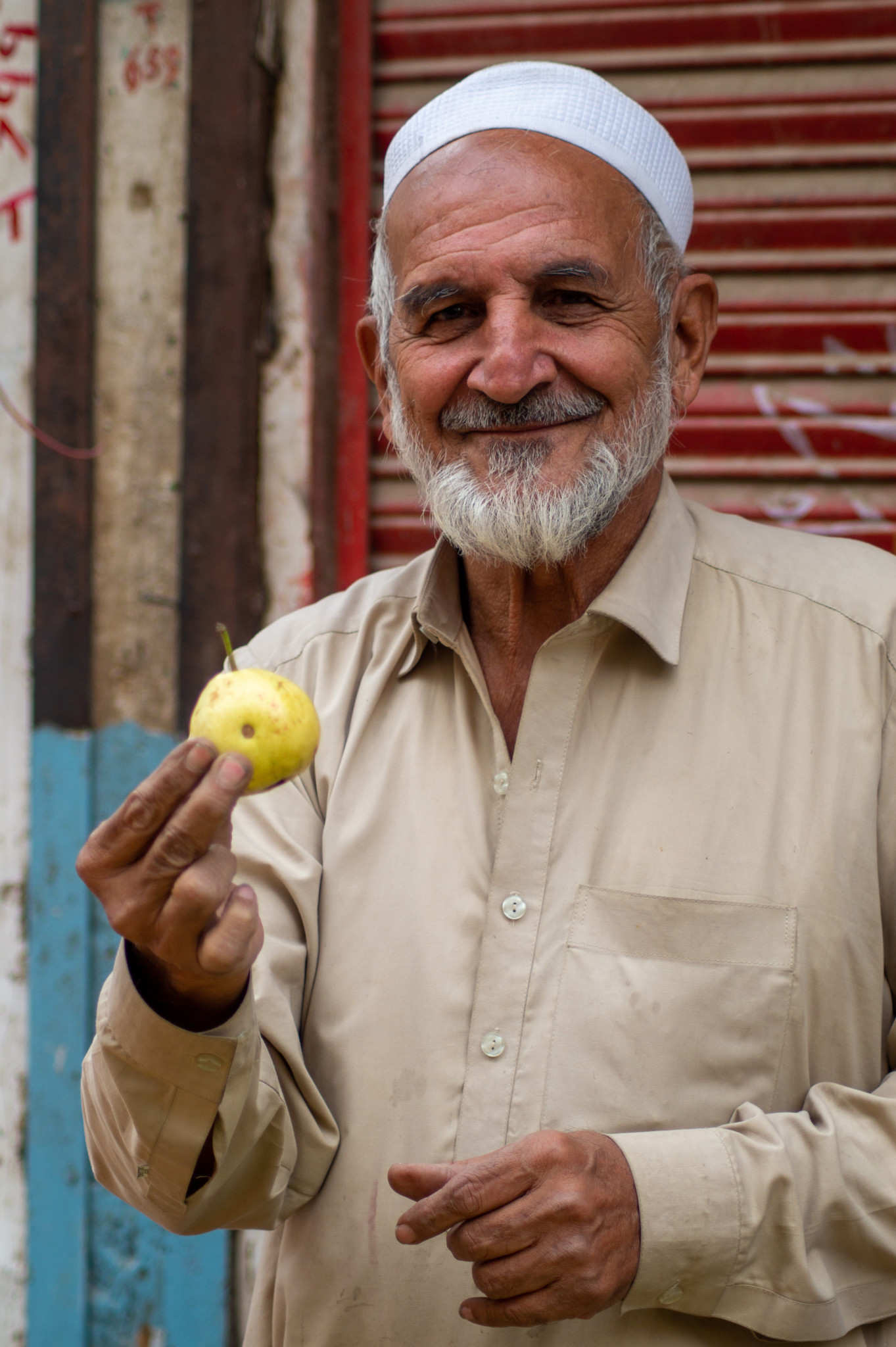 Obstverkäufer in Peschawar