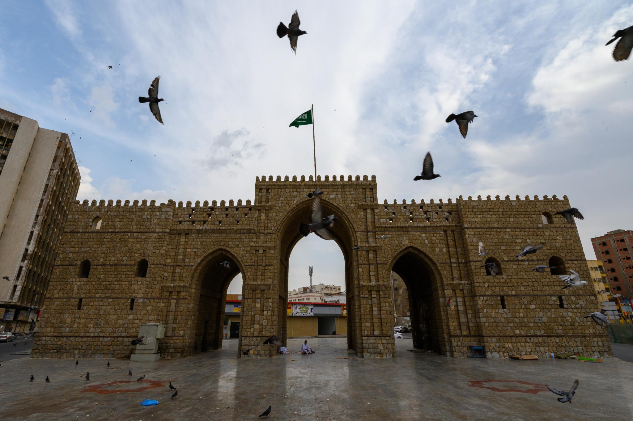 Mekkah Tor in Jeddah Saudi-Arabien