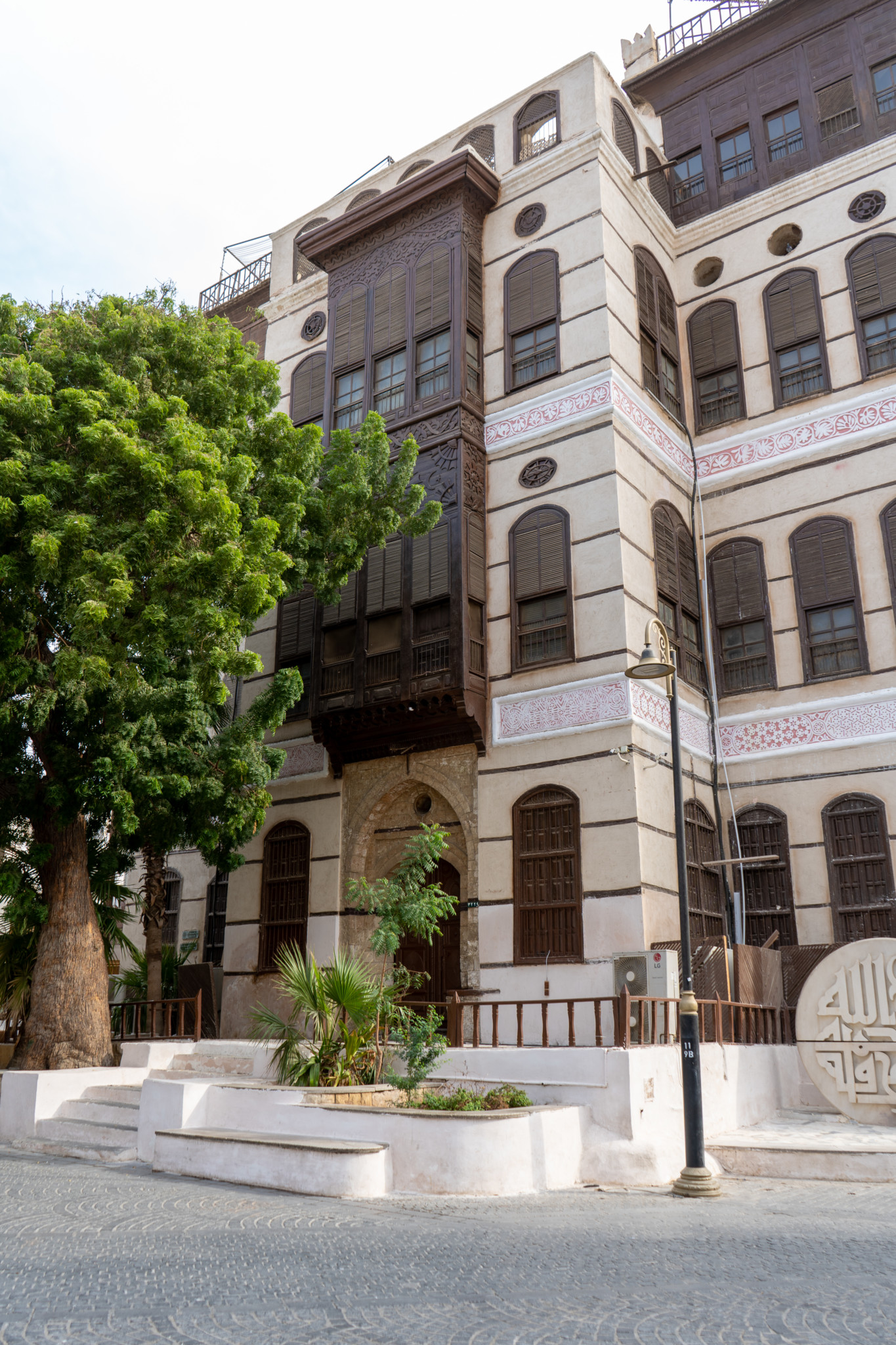 Museumshaus in Jeddah Saudi-Arabien