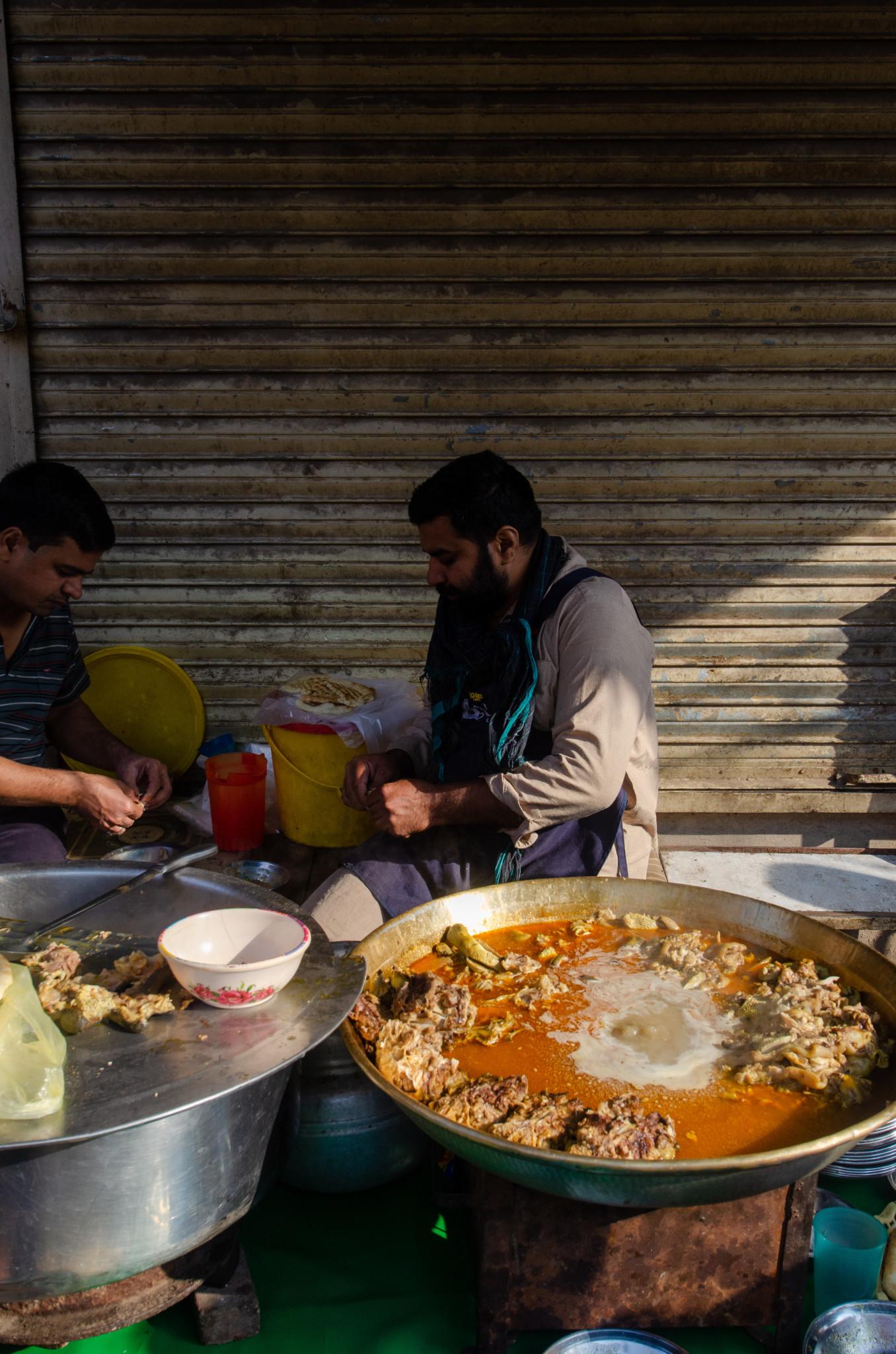Nihari Streetfood Pakistan