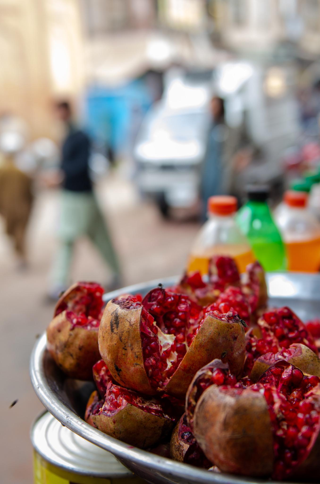 Granatapfel in Pakistan