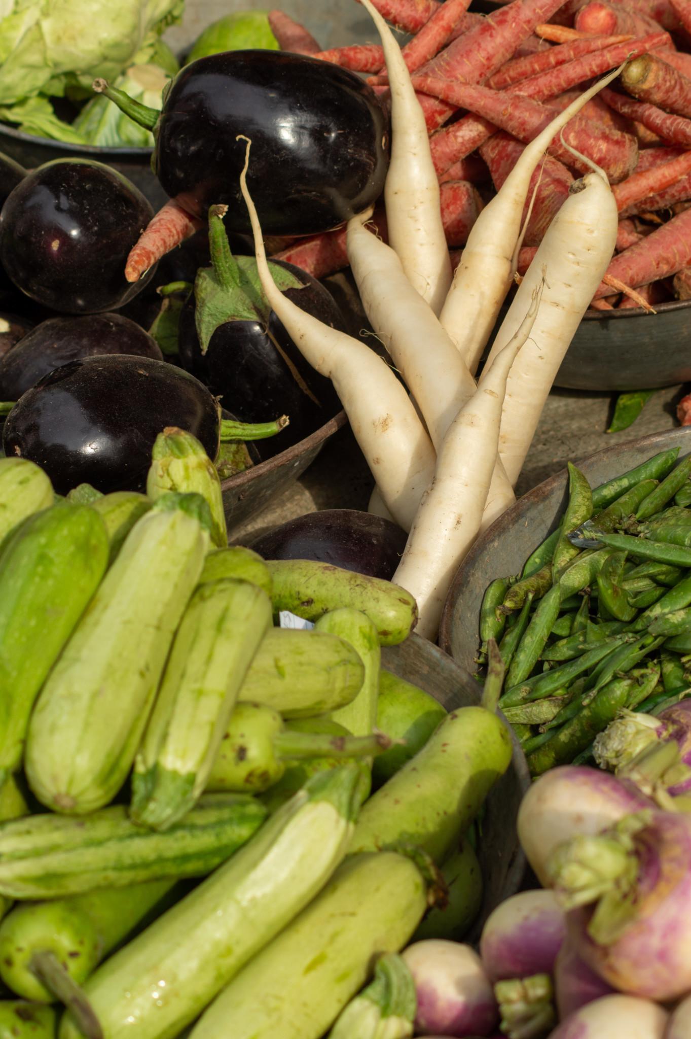 Gemüse auf dem Markt in Peschawar
