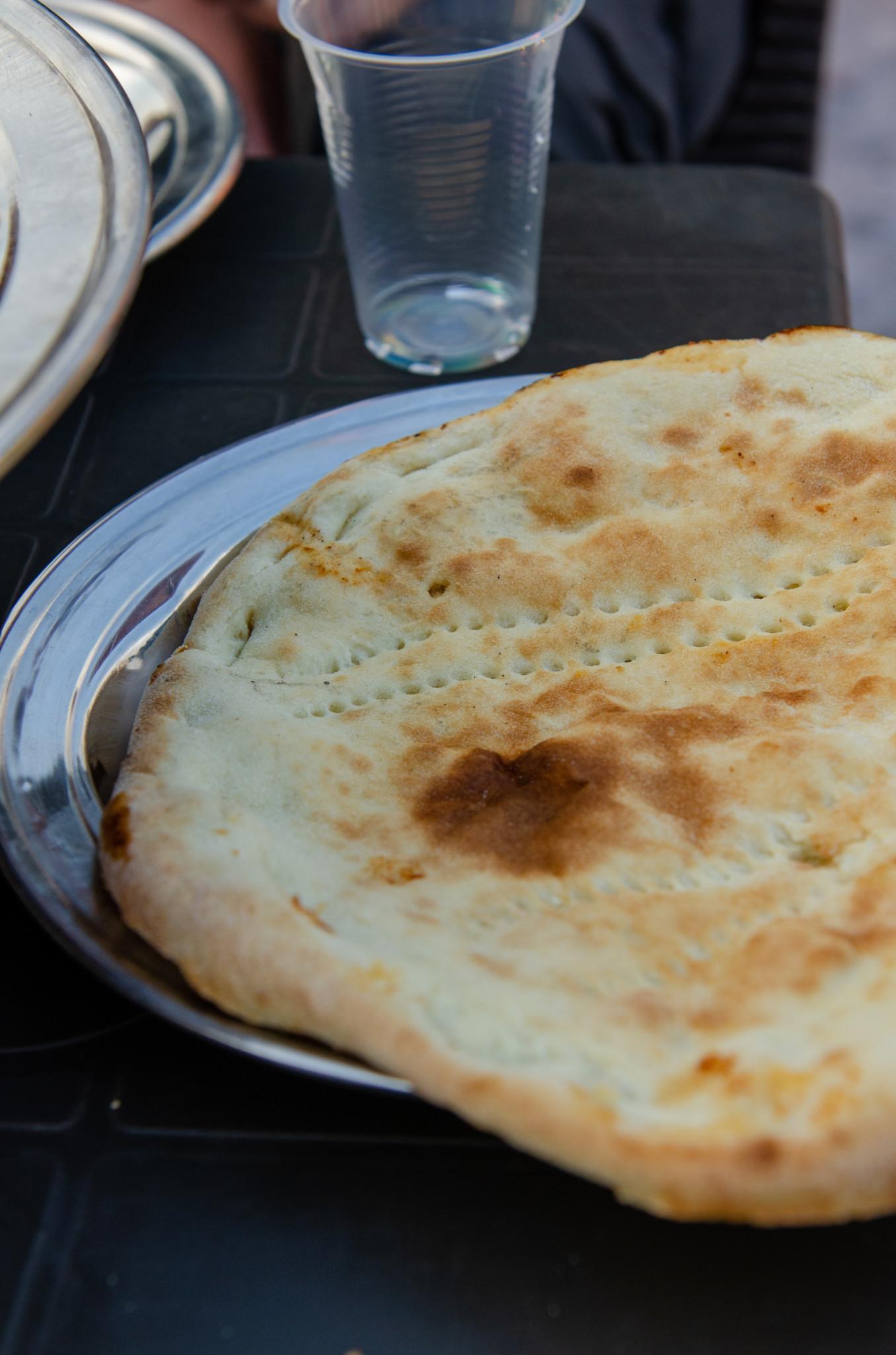 Paratha Brot als typisch pakistanisches Essen