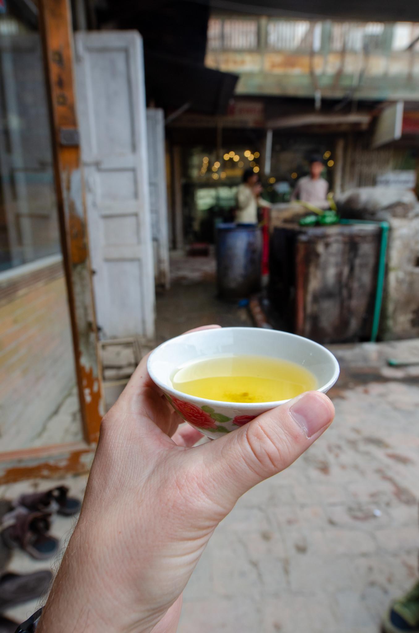 Tee in Peschawar