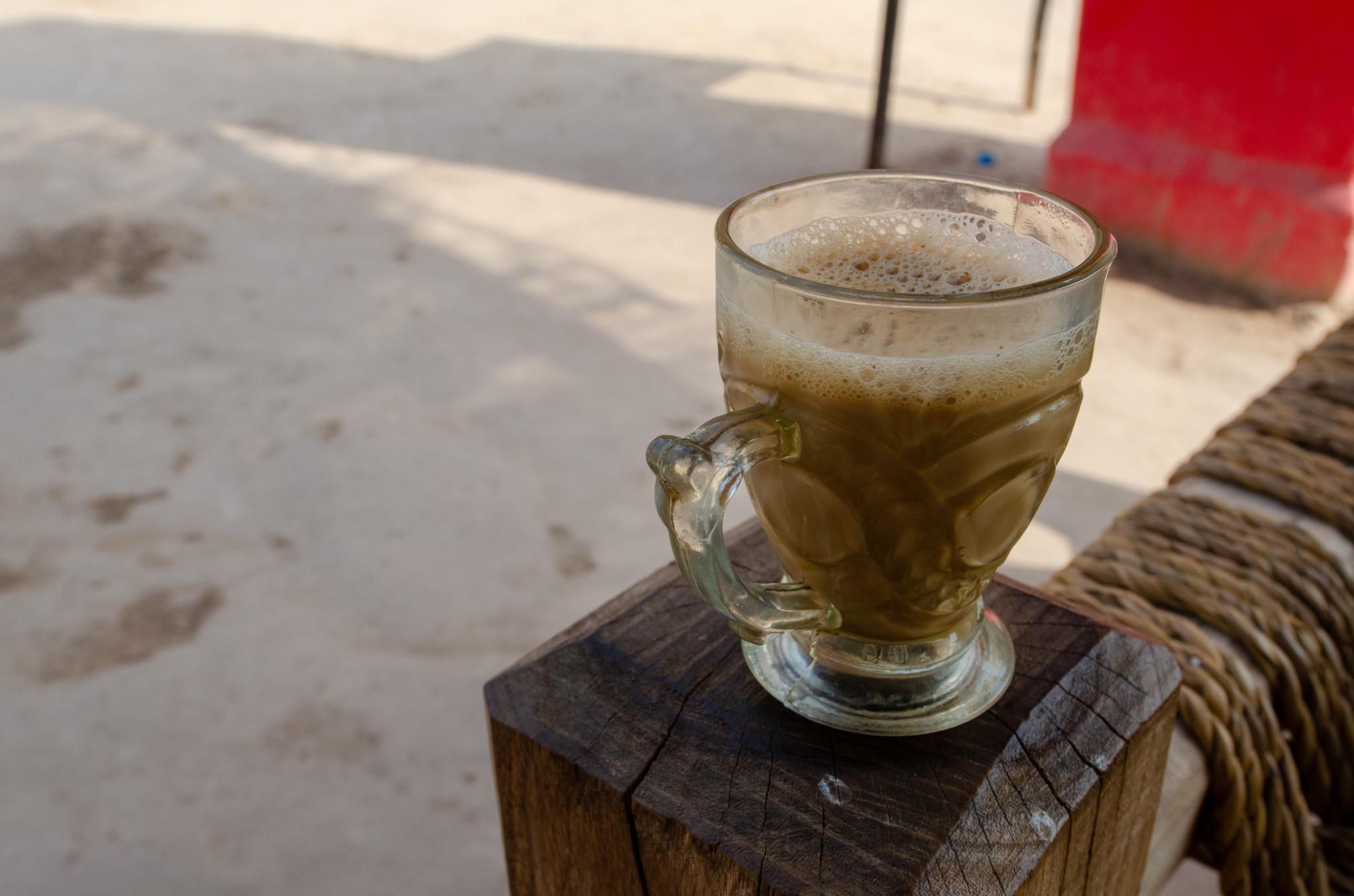 Typischer Tee in Pakistan