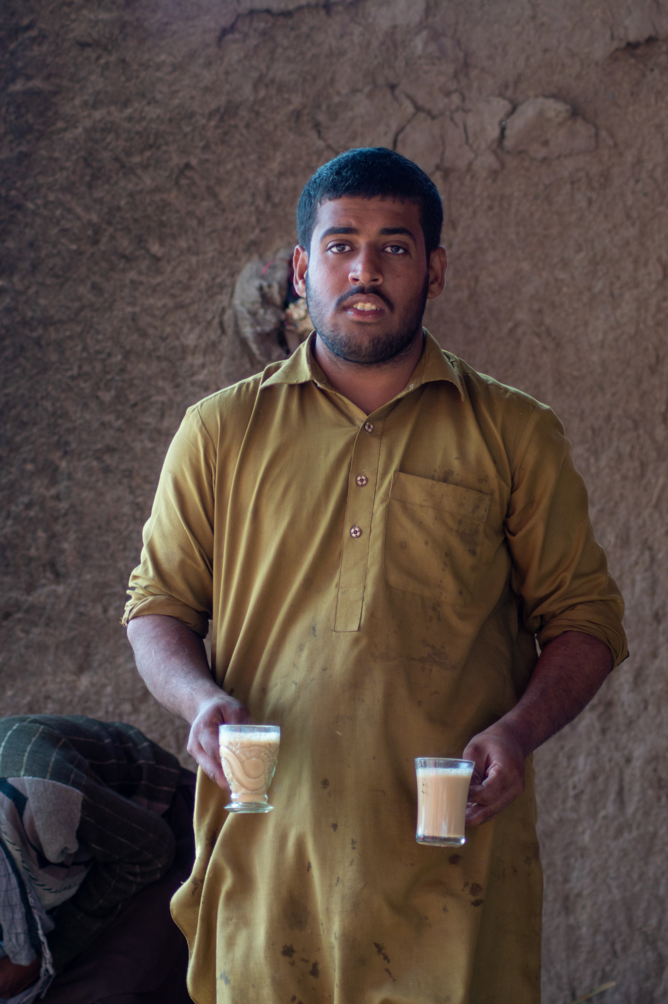 Teeverkäufer in der Cholistan Wüste