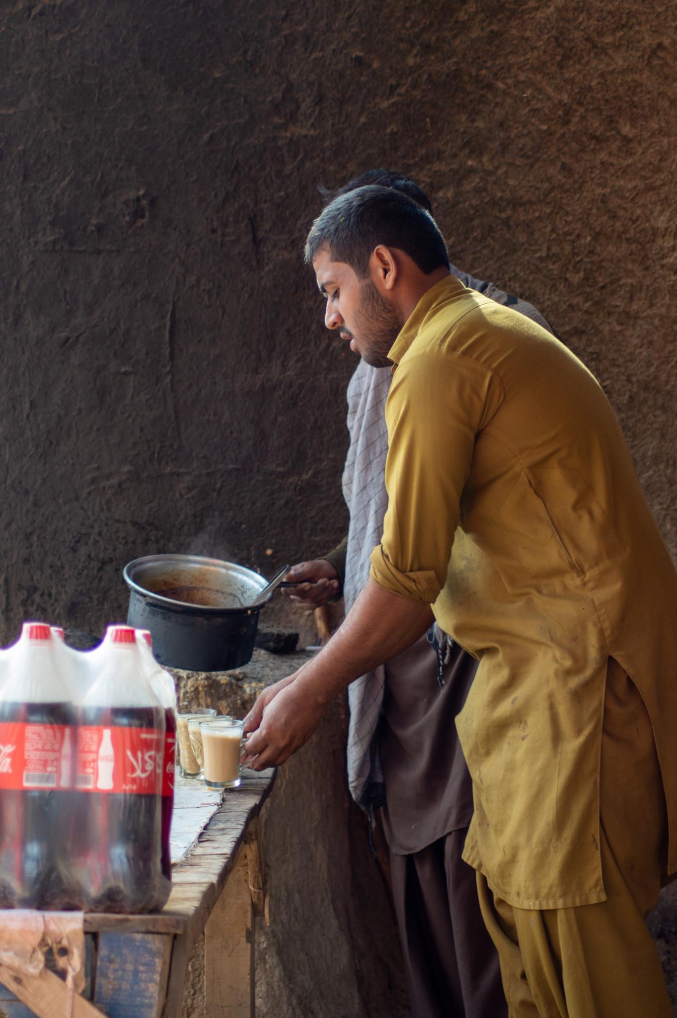 Pakistanisches Essen ohne Tee geht nicht
