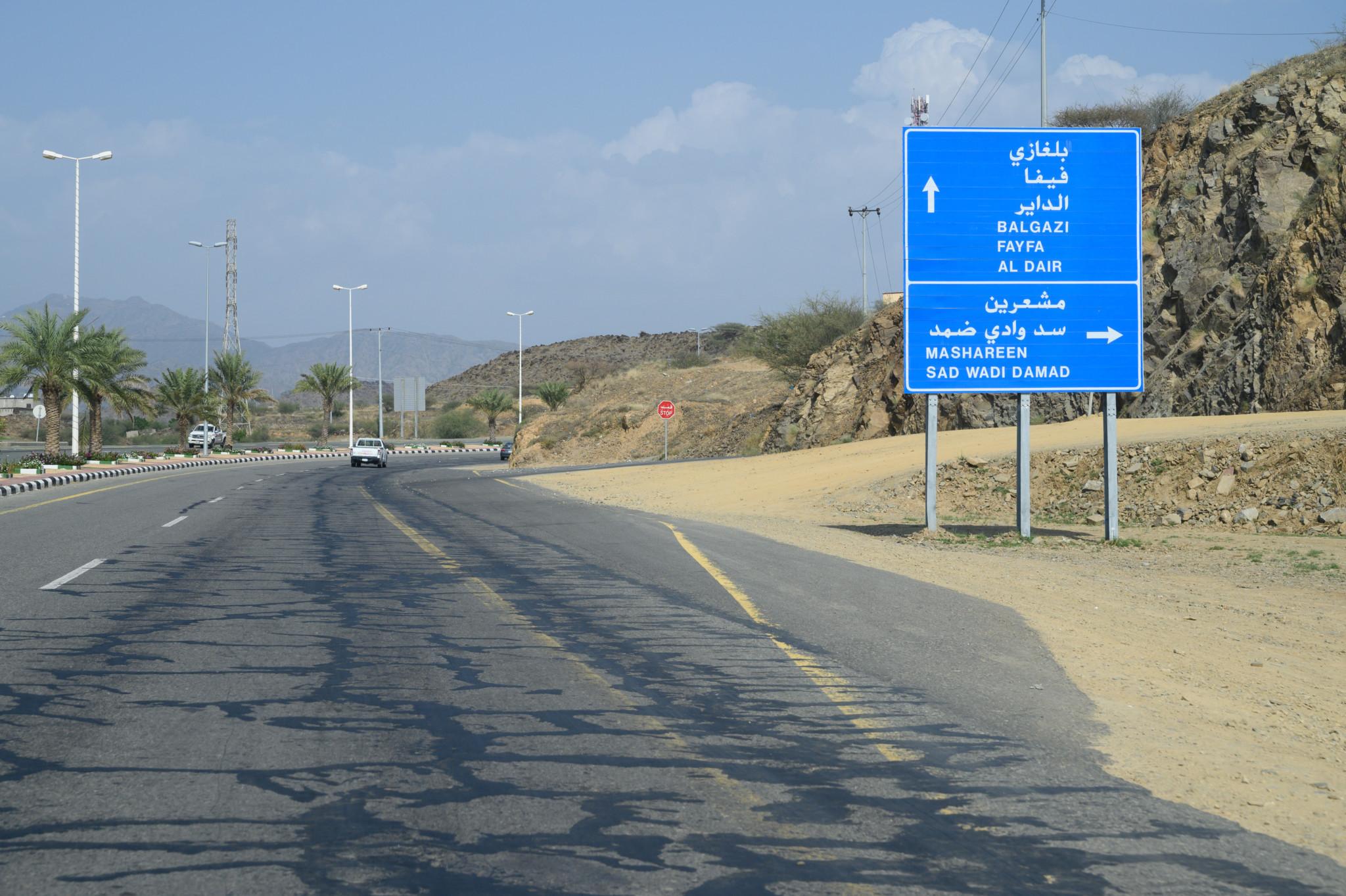 Autofahren in Saudi-Arabien