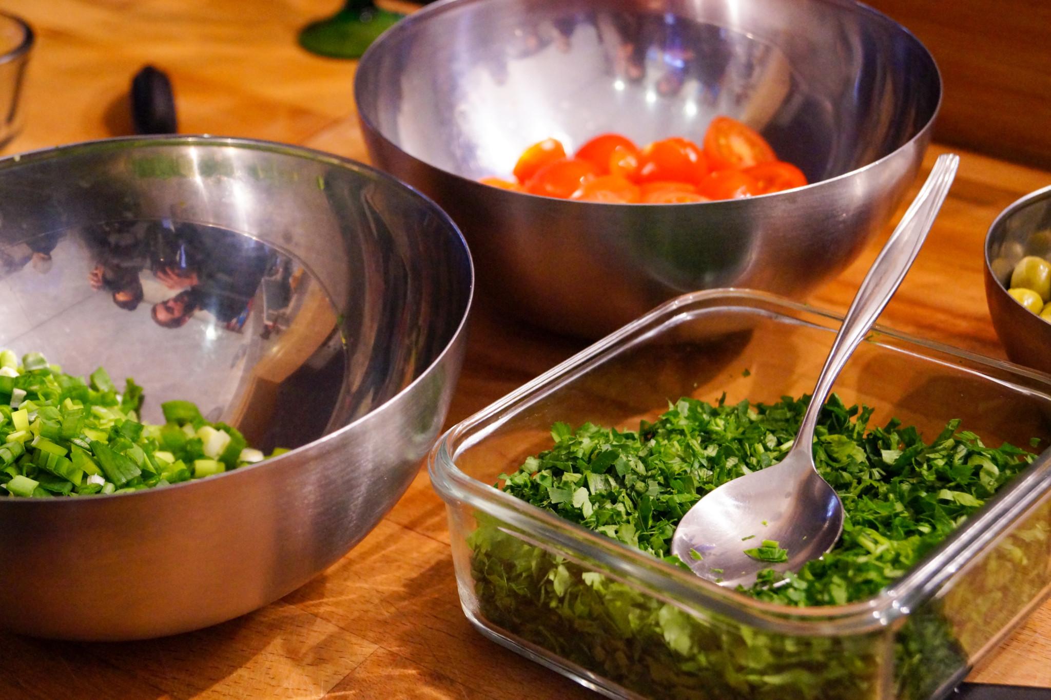 Hol dir die Welt nach Hause und koche ferne Gerichte