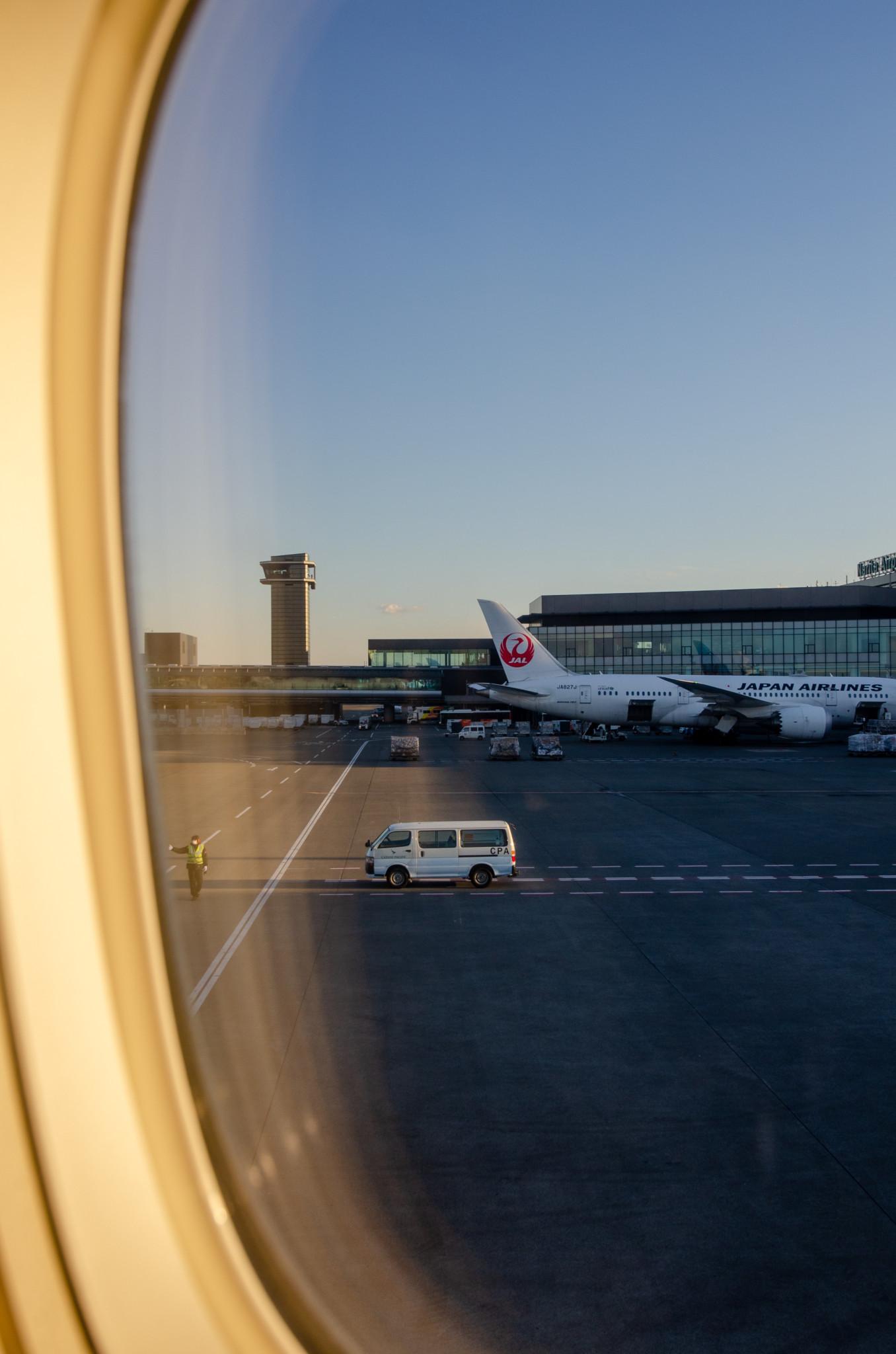 Ausblick Tokio-Narita