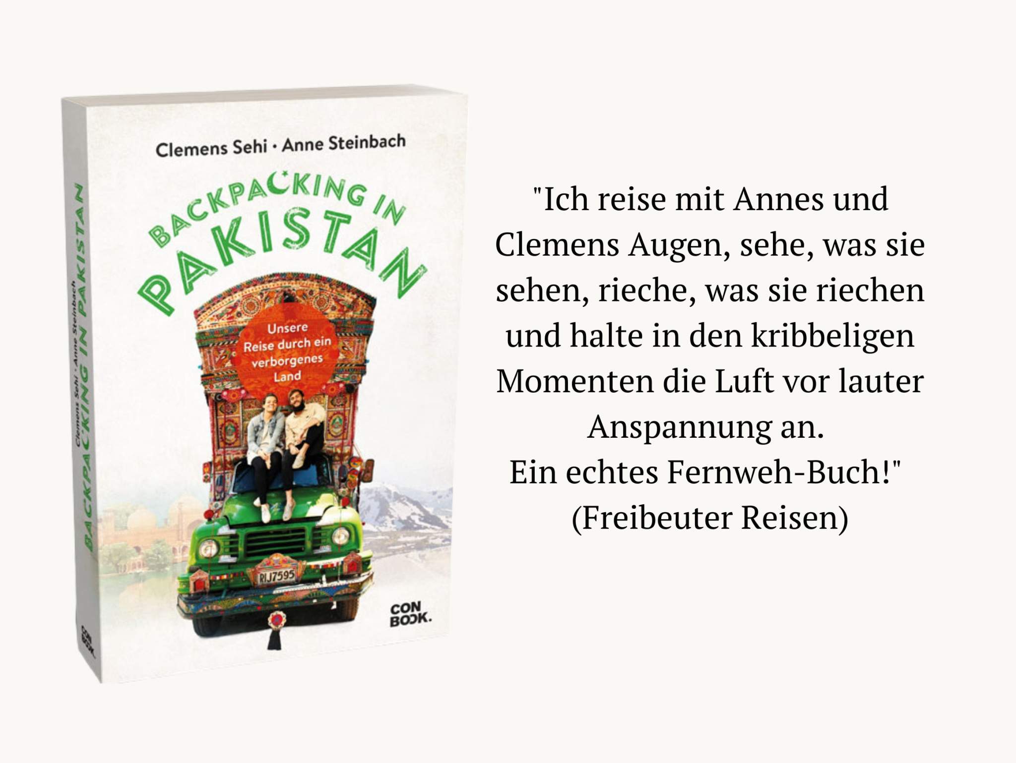 Pressestimme Backpacking in Pakistan Buch
