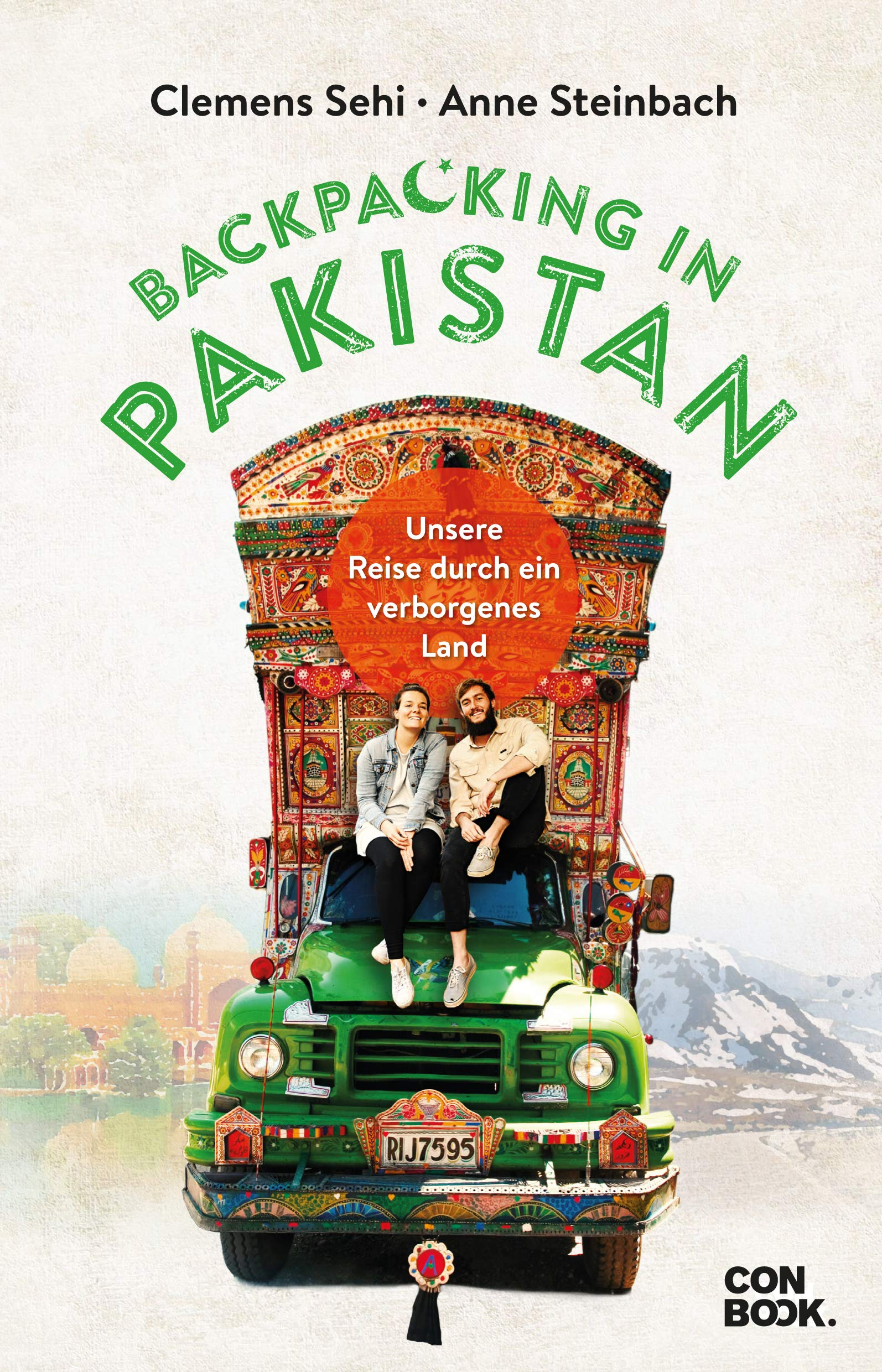 Backpacking in Pakistan: Das Buchcover