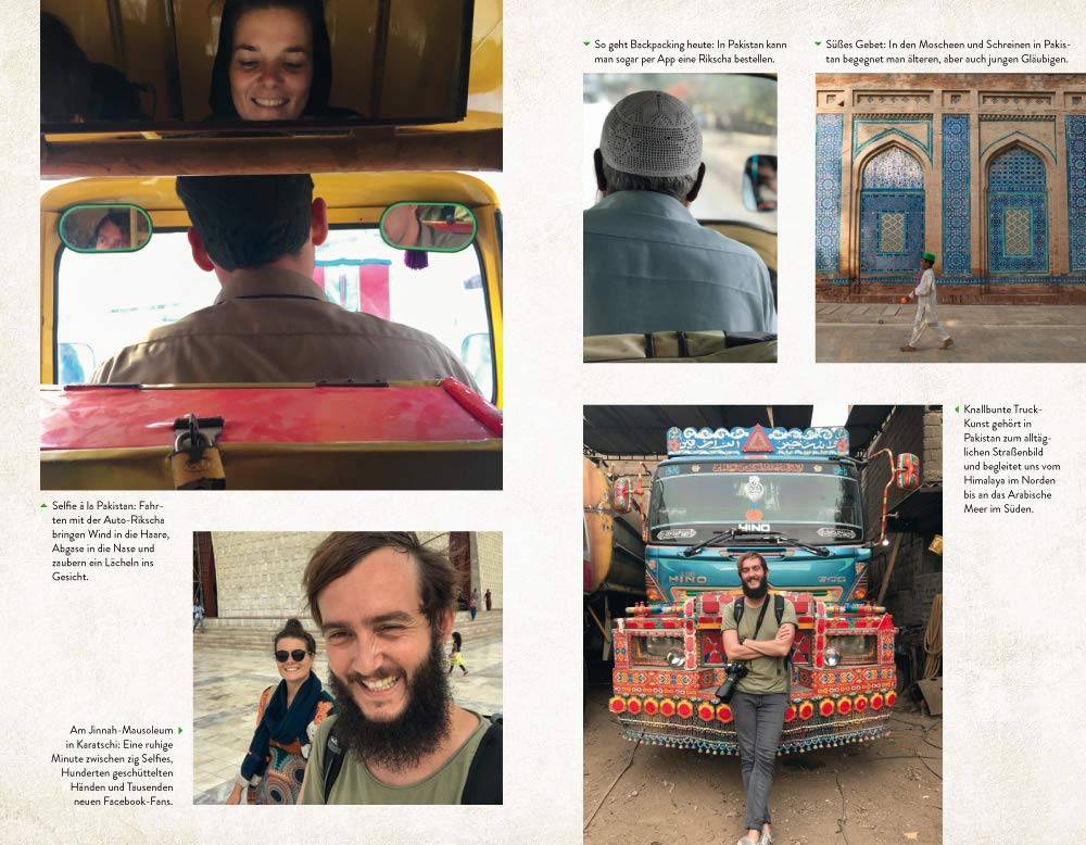 Backpacking in Pakistan: Fototeil aus dem Buch