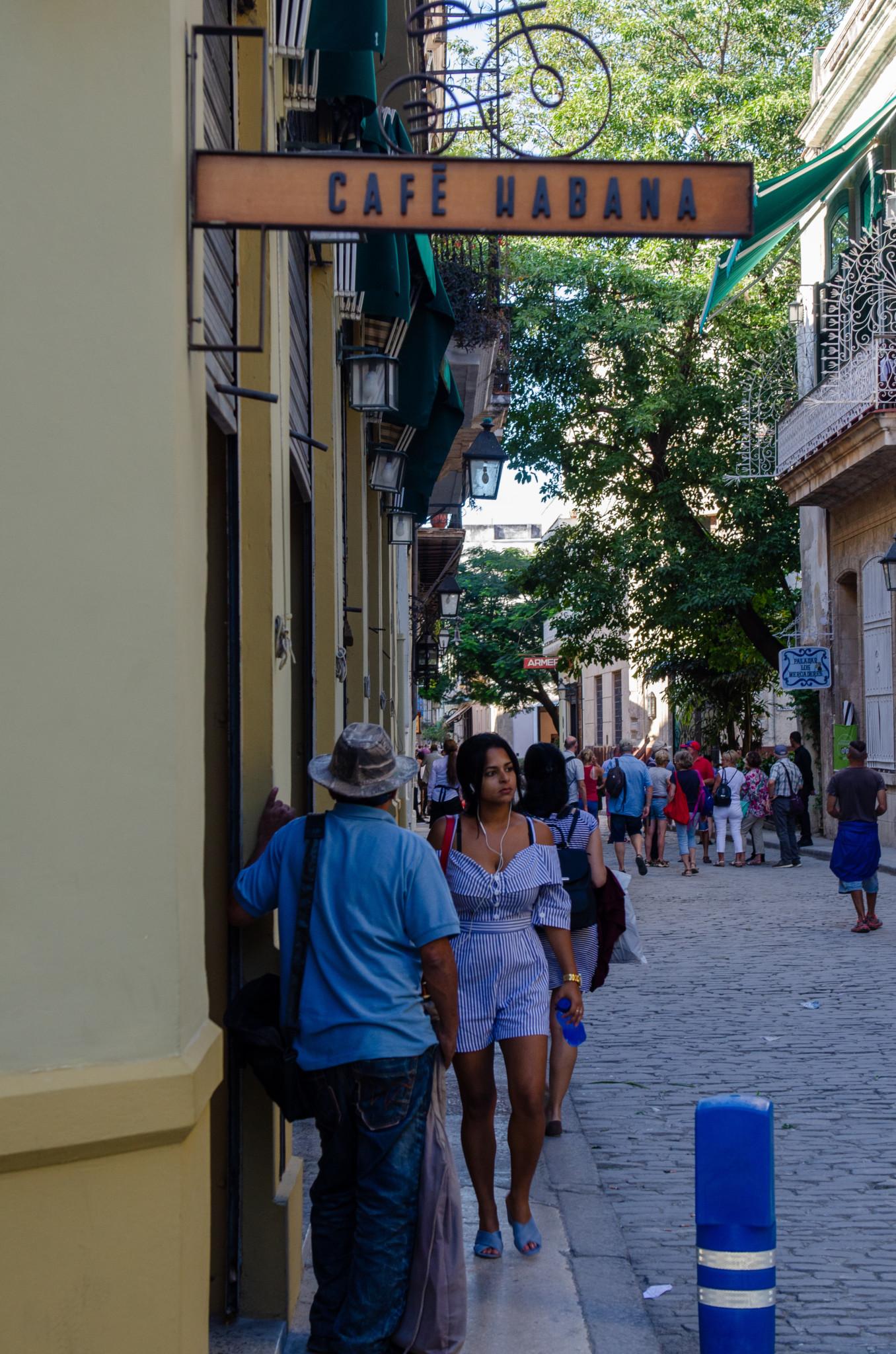Café Habana in Habana Vieja