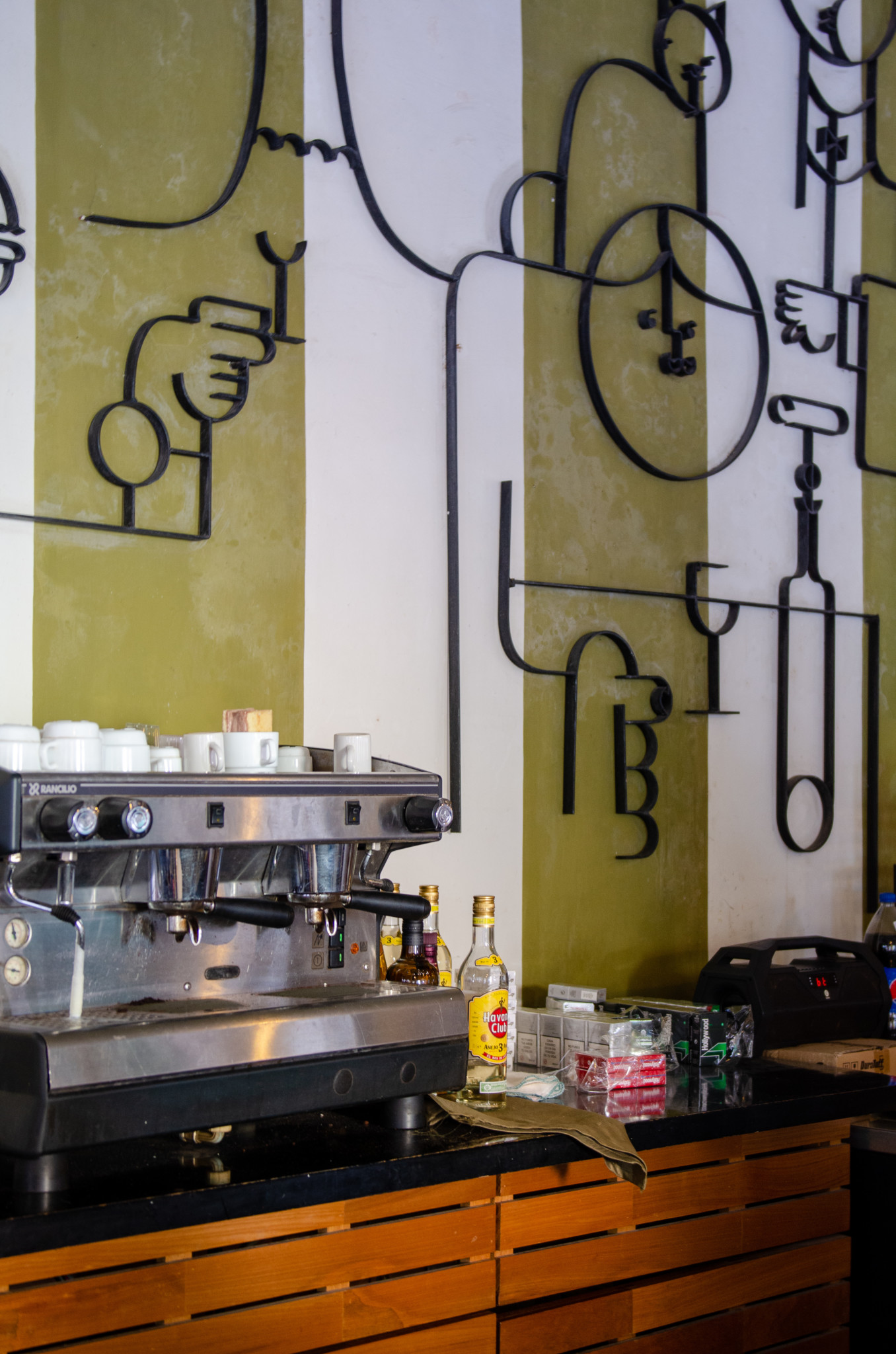 Café Habana in Havanna