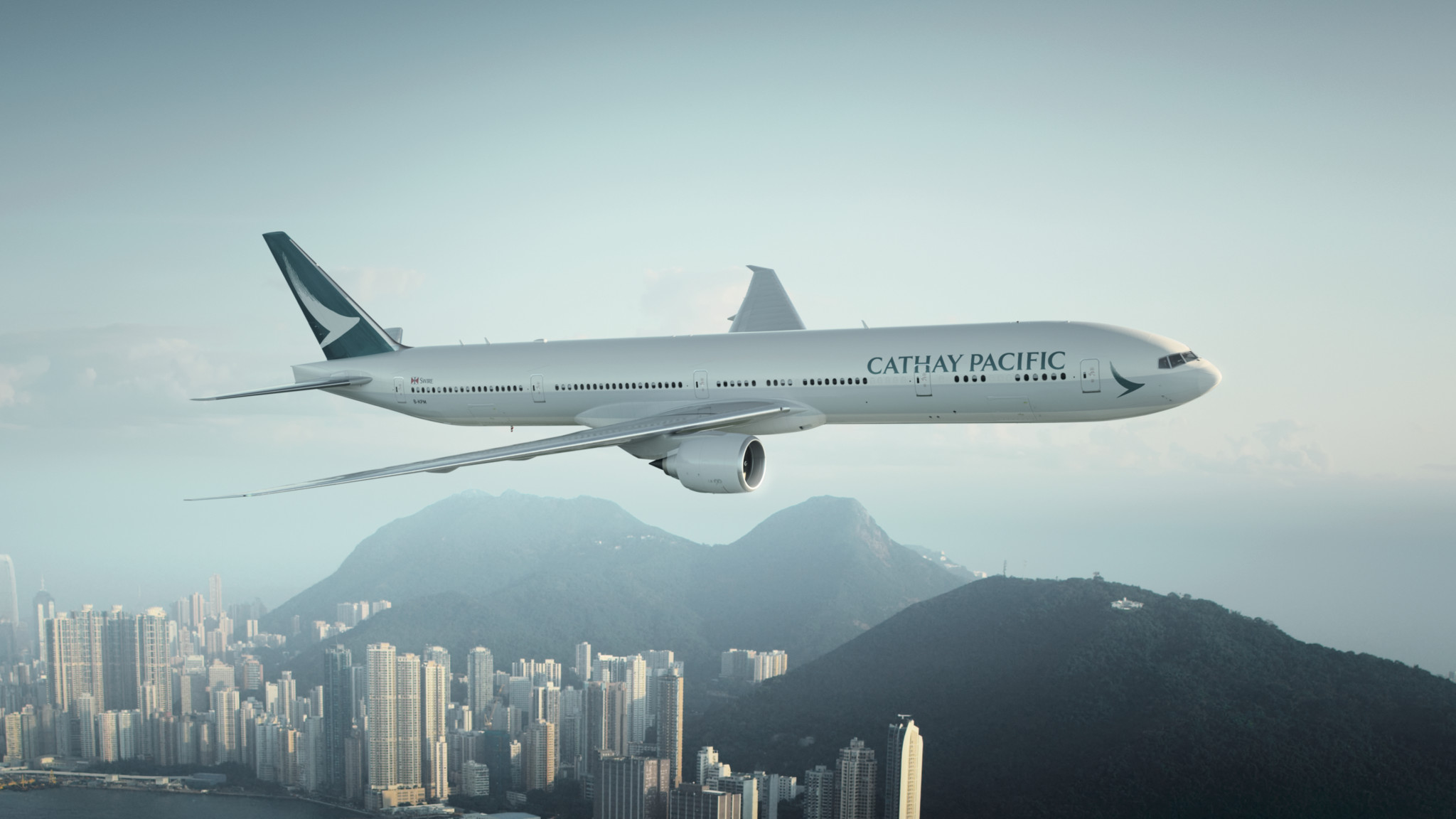 Cathay Pacific First Class in der Boeing 777-300