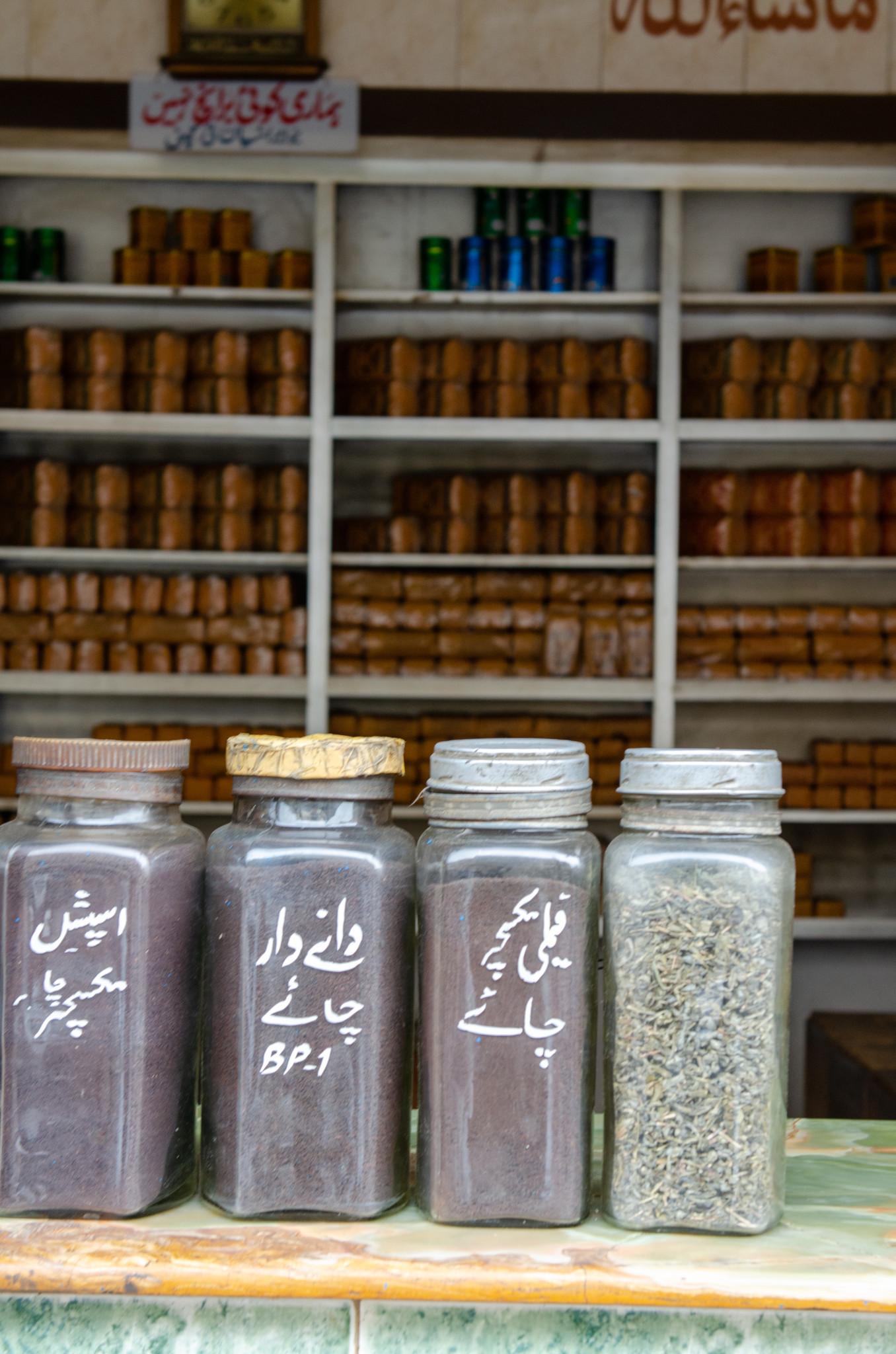 Gewürze kann man auf dem Bohra Bazaar in Karatschi gut kaufen