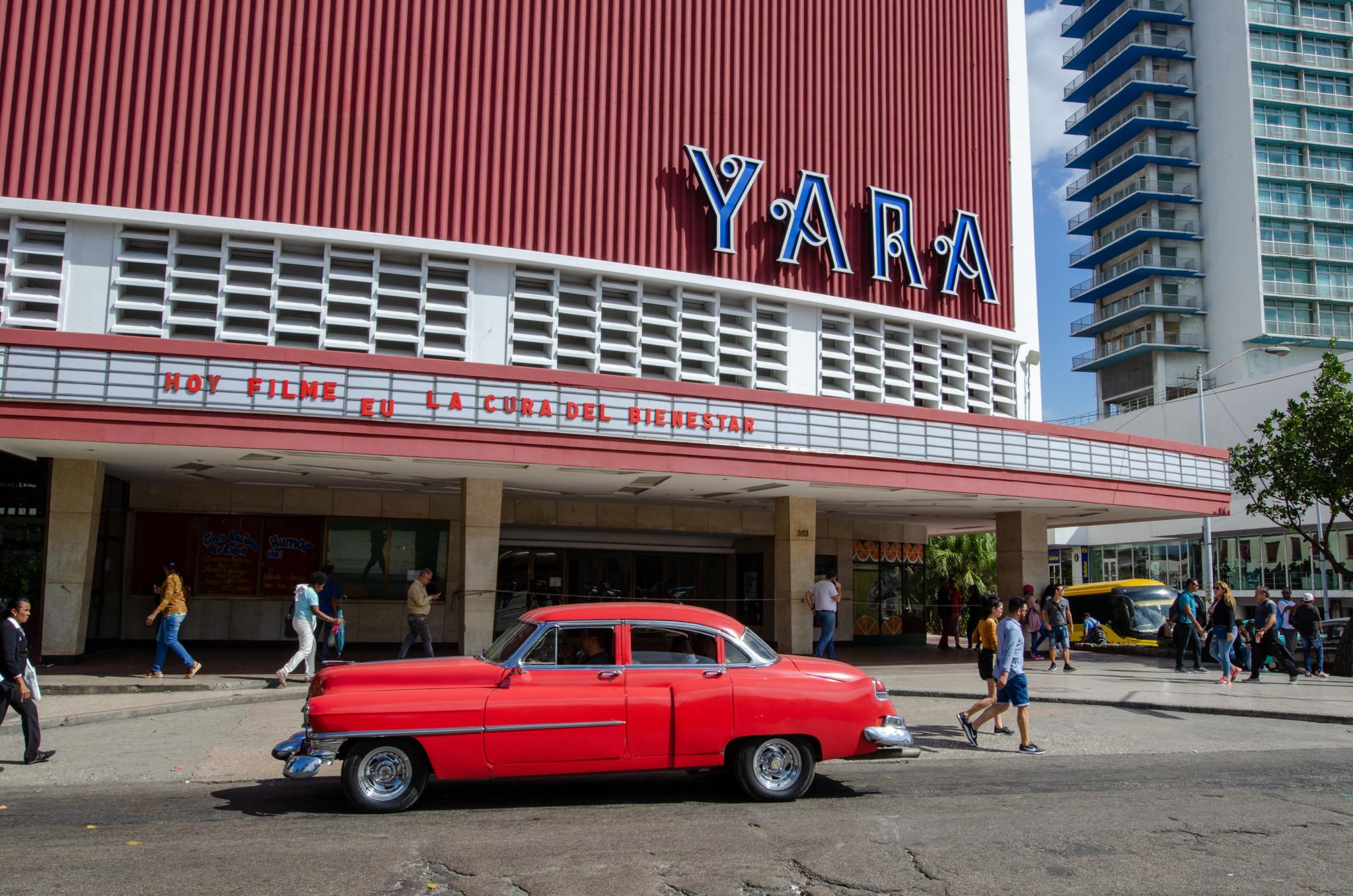 Das Cine Yara in Vedado ist ein Muss für alle Architekturliebhaber