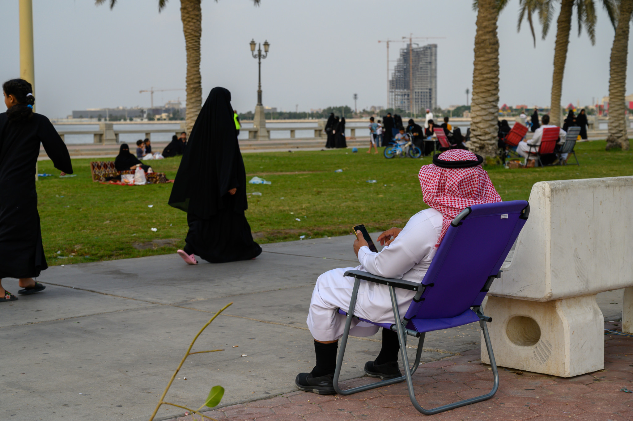 Die Dammam Corniche gehört zu den Lieblingsorten aller Einheimischen