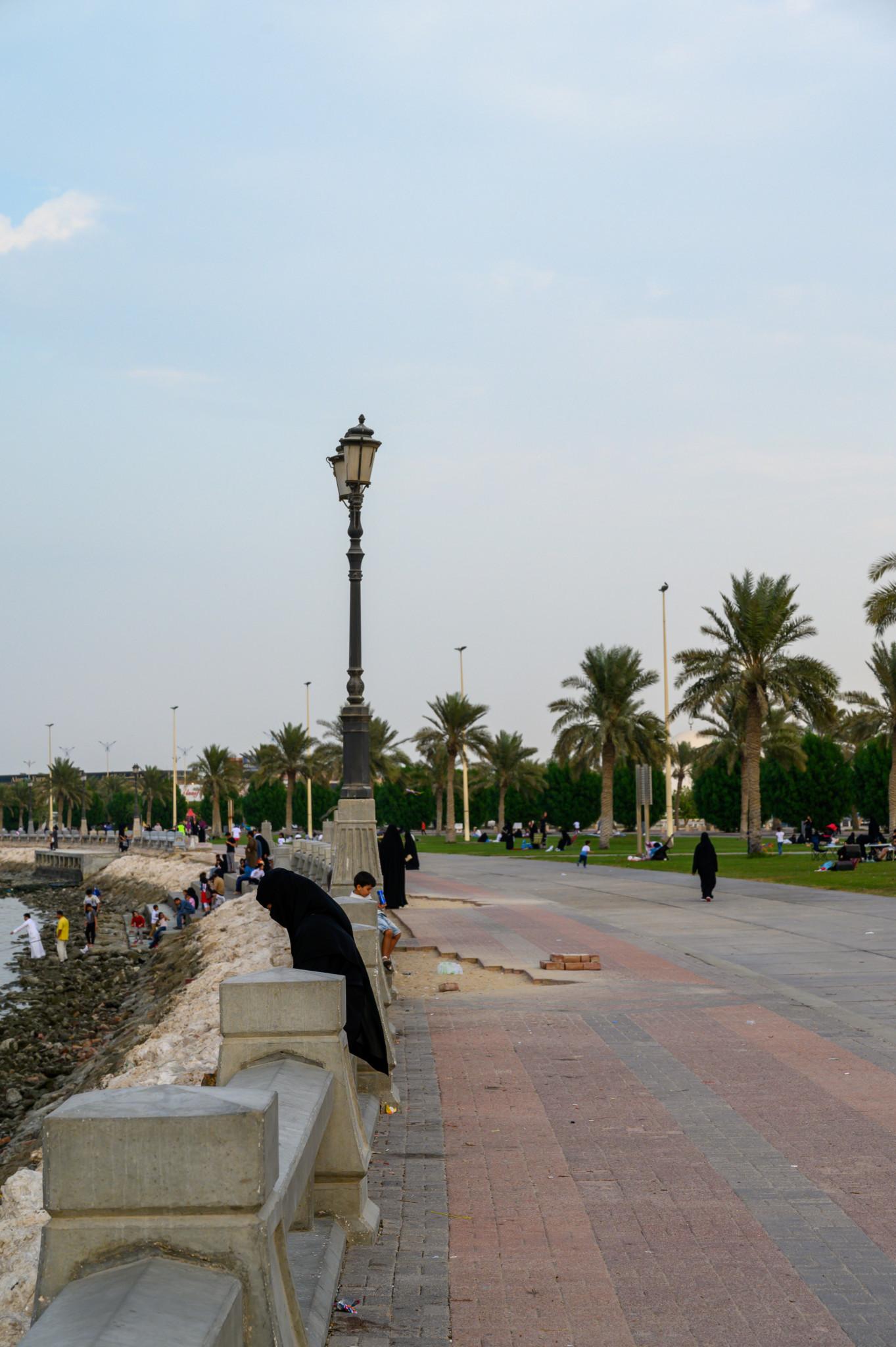 Die Sehenswürdigkeiten in Dammam beinhalten auch die Corniche