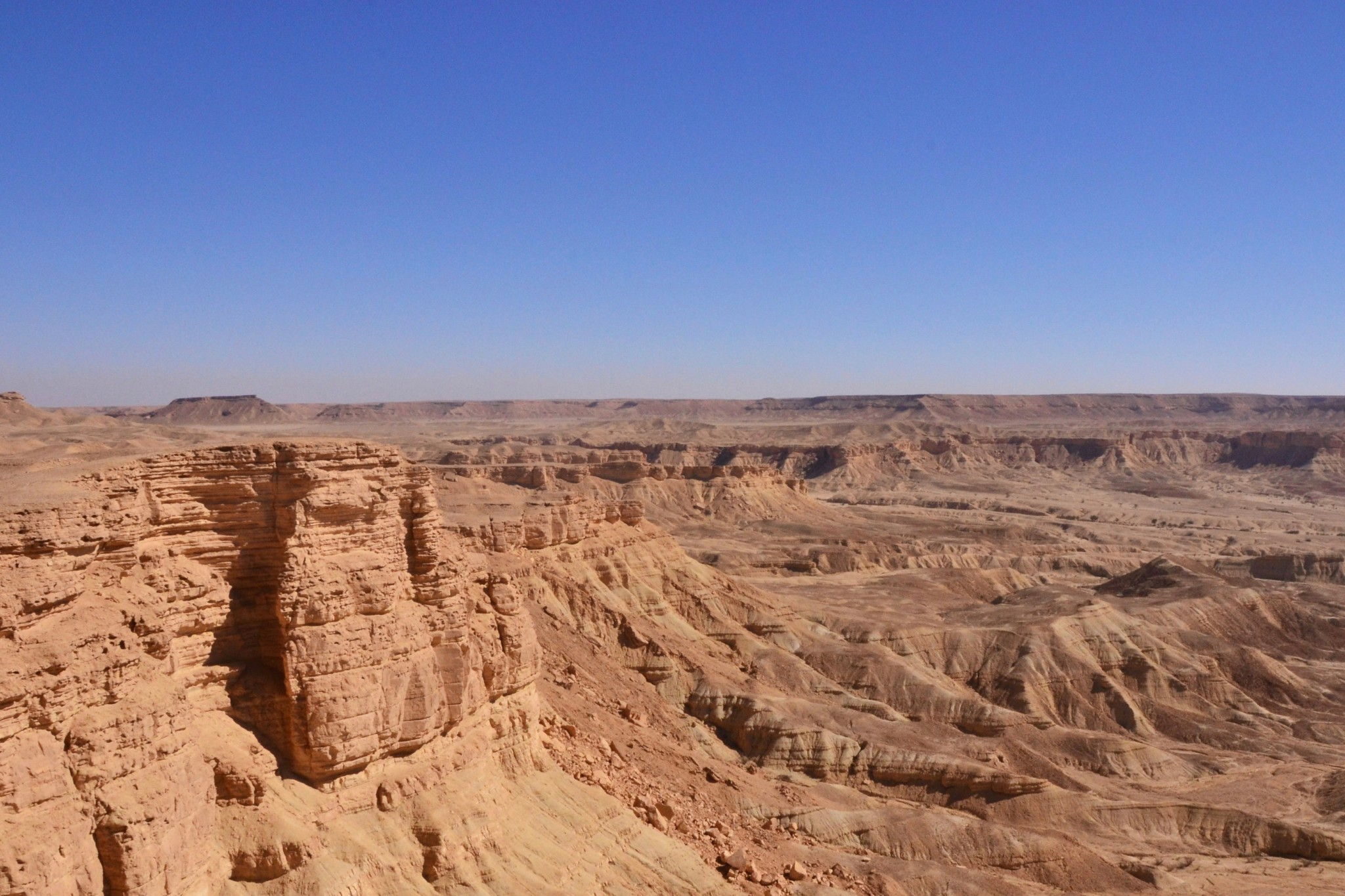 Edge of the World in Saudi-Arabien