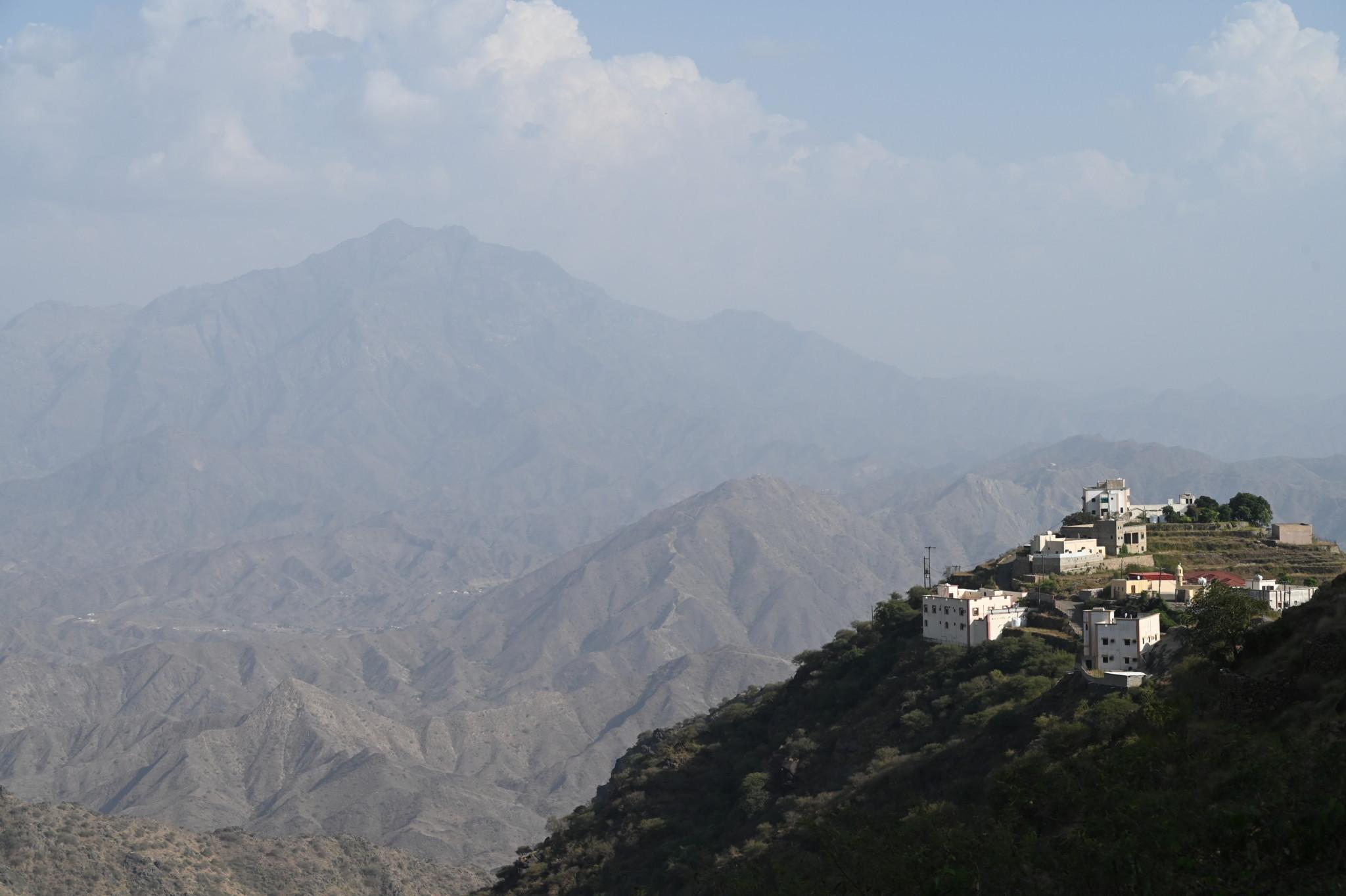 Die Fayfa Mountains in Jizan gehören zum Saudi-Roadtrip dazu